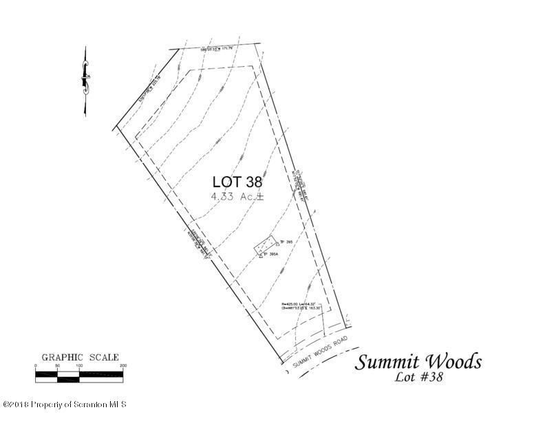 Lot 38 Summit Woods Rd, Roaring Brook Twp, Pennsylvania 18444, ,Land,For Sale,Summit Woods,18-1231