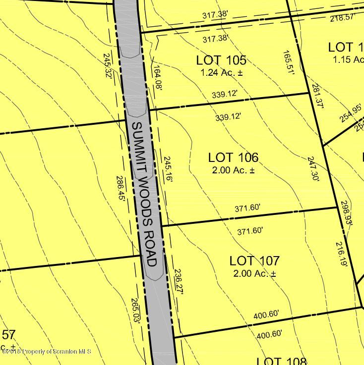 Lot 106 Summit Woods Rd, Moscow, Pennsylvania 18444, ,Land,For Sale,Summit Woods,18-3565