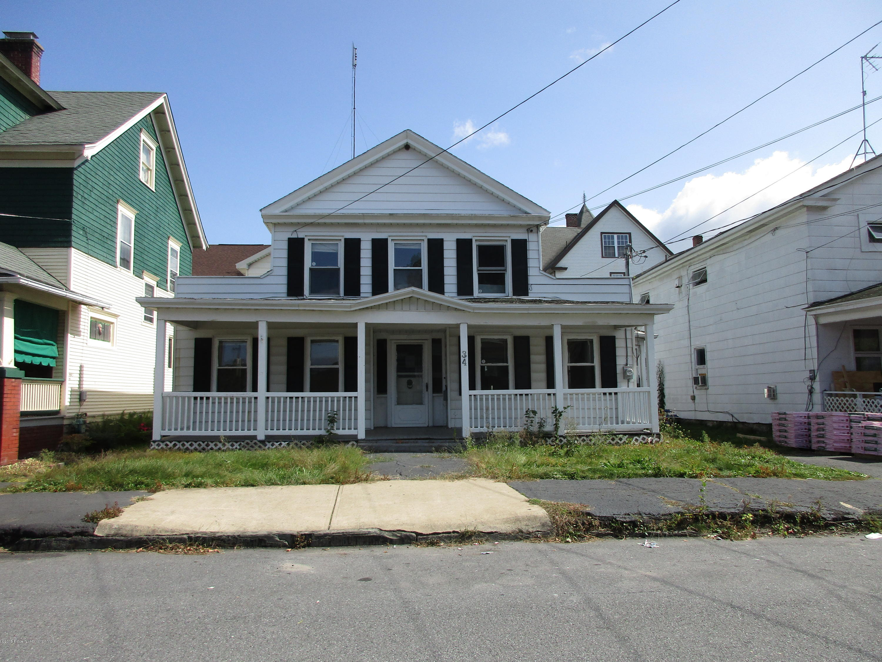 34 Terrace St- Carbondale- Pennsylvania 18407, ,Multi-Family,For Sale,Terrace,19-98