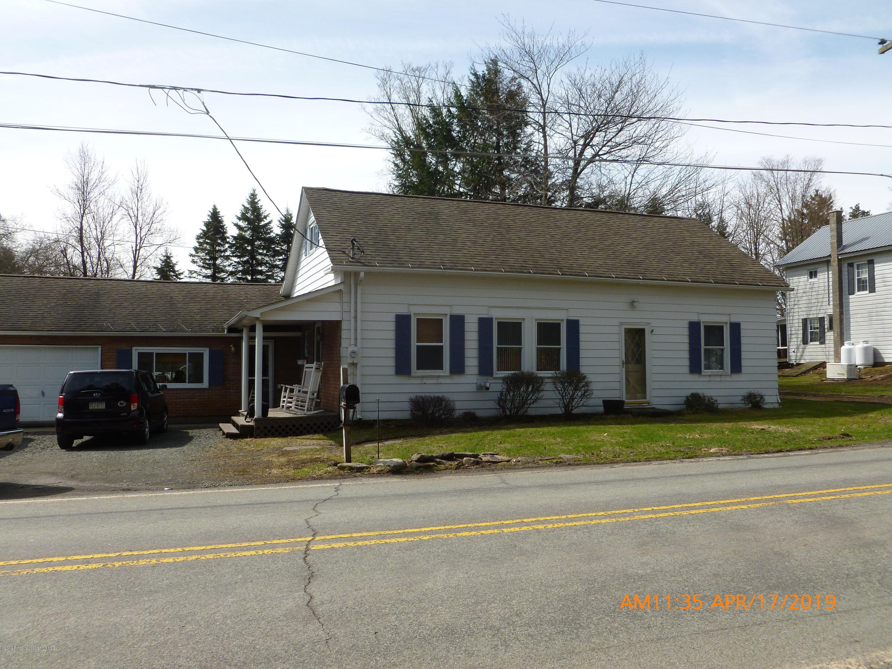 402 Great Bend Turnpike, Pleasant Mount, Pennsylvania 18453, 4 Bedrooms Bedrooms, 6 Rooms Rooms,1 BathroomBathrooms,Single Family,For Sale,Great Bend Turnpike,19-1716