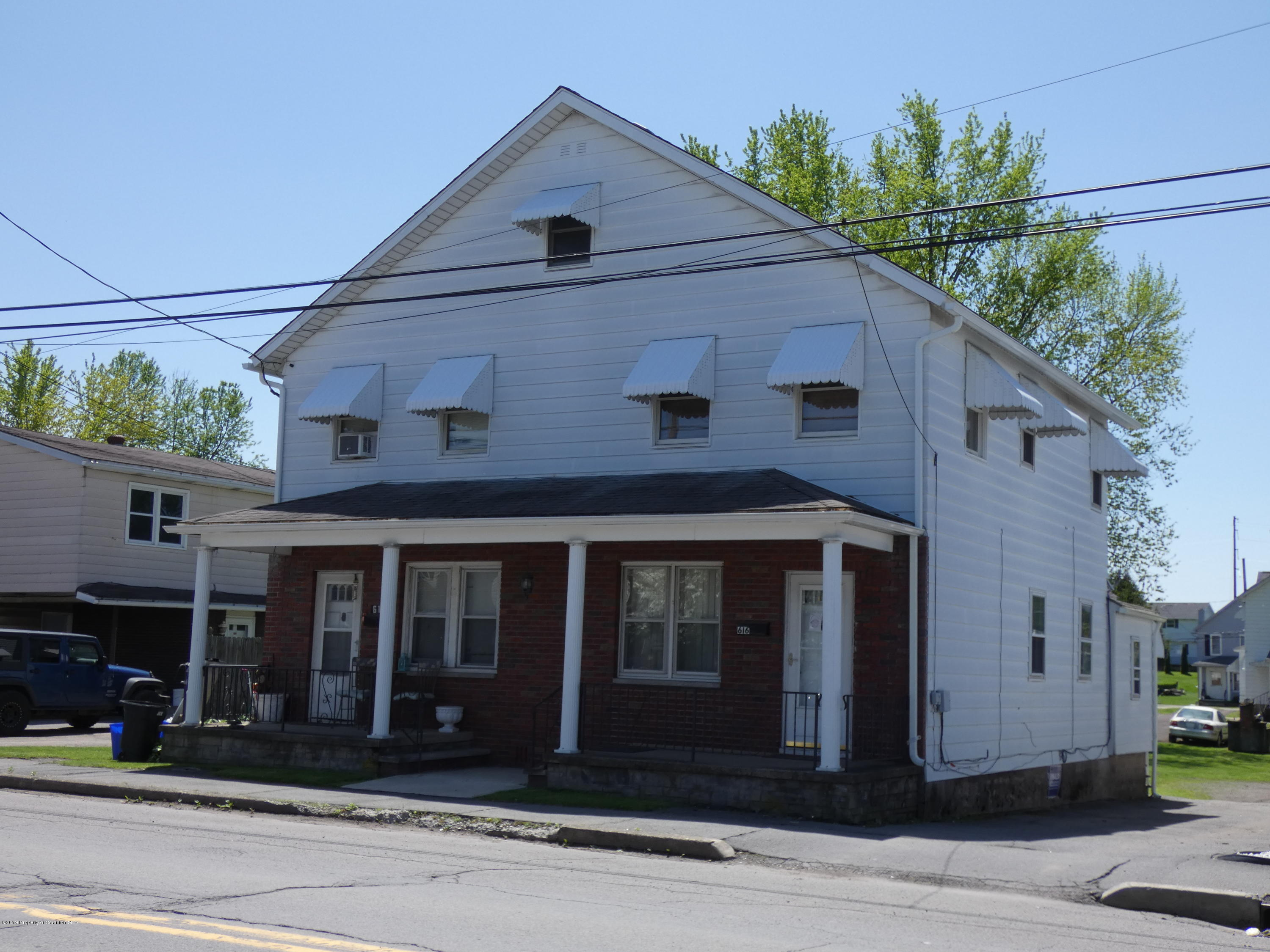 614-616 Oak Street, Old Forge, Pennsylvania 18518, ,Multi-Family,For Sale,Oak,19-2122
