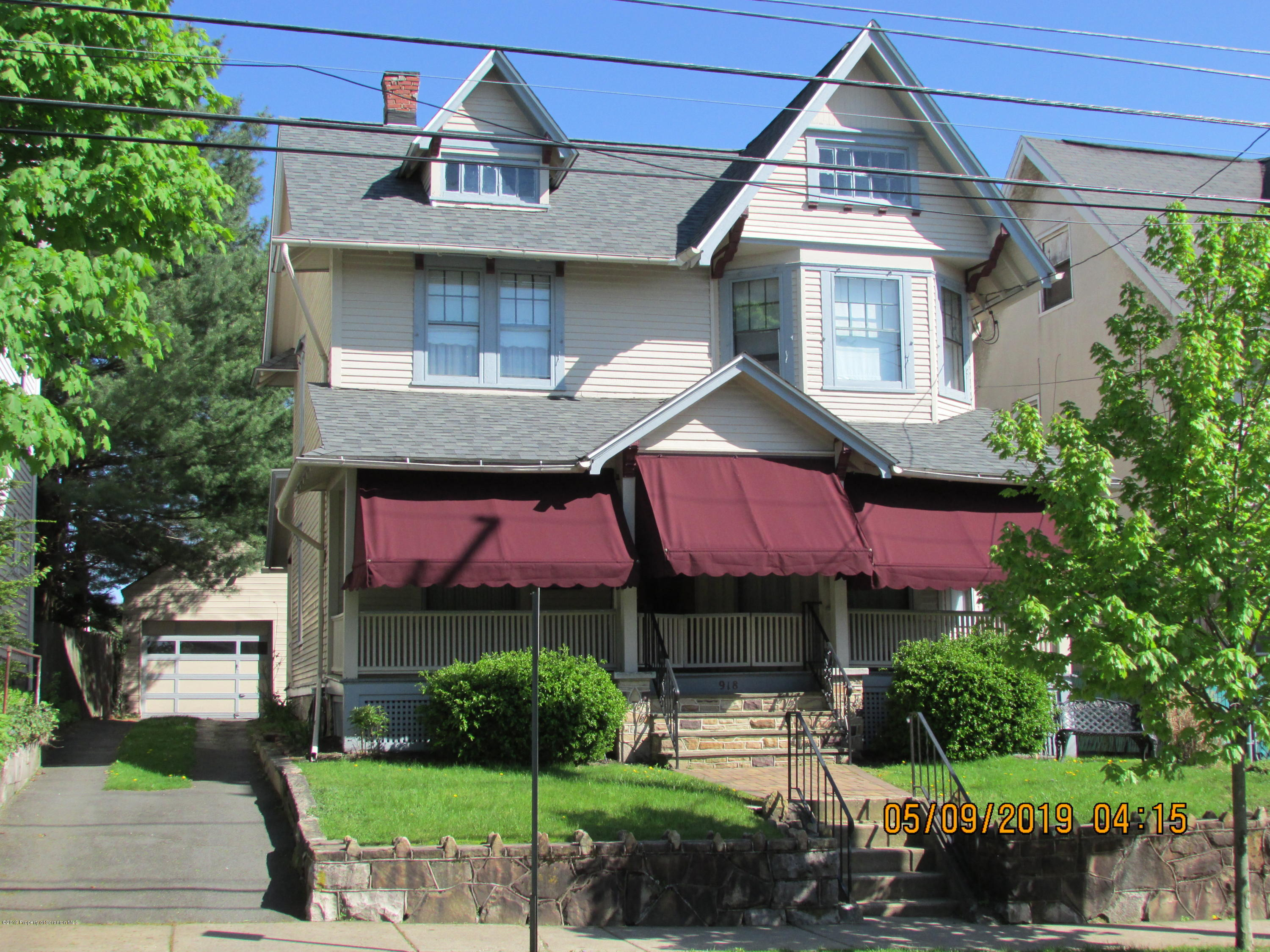 918 Prescott Ave, Scranton, Pennsylvania 18510, 4 Bedrooms Bedrooms, 8 Rooms Rooms,1 BathroomBathrooms,Single Family,For Sale,Prescott,19-2197