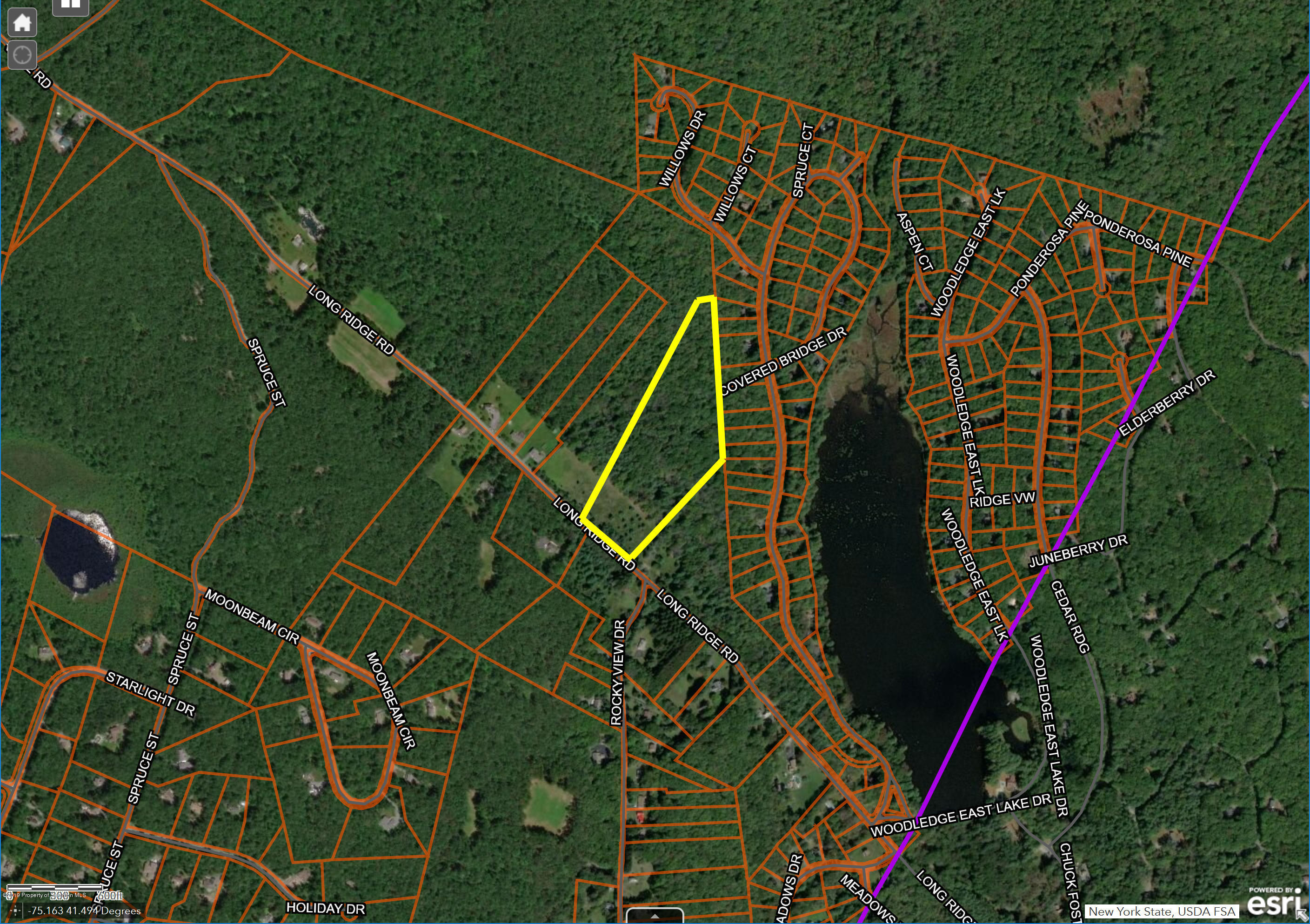 Long Ridge Road, Hawley, Pennsylvania 18428, ,Land,For Sale,Long Ridge Road,19-2141
