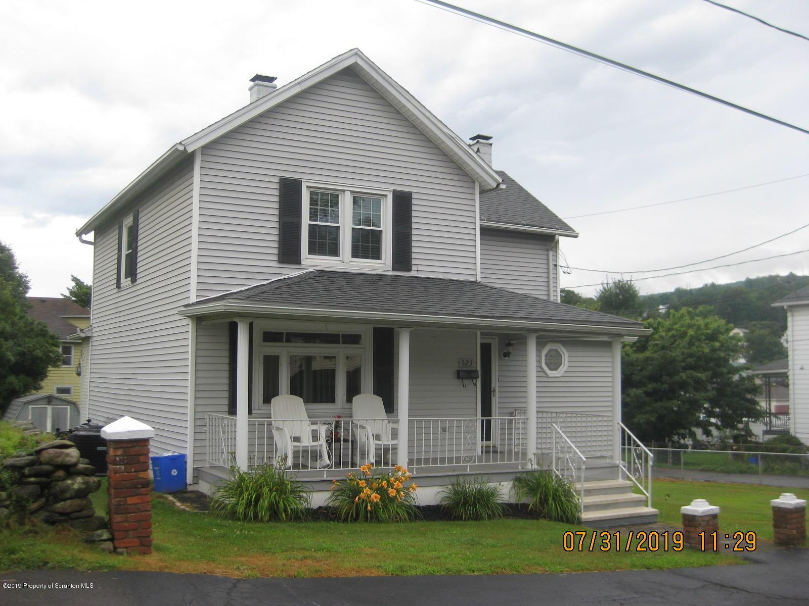 523 Pancoast St, Dickson City, Pennsylvania 18519, 3 Bedrooms Bedrooms, 6 Rooms Rooms,2 BathroomsBathrooms,Single Family,For Sale,Pancoast,19-3686