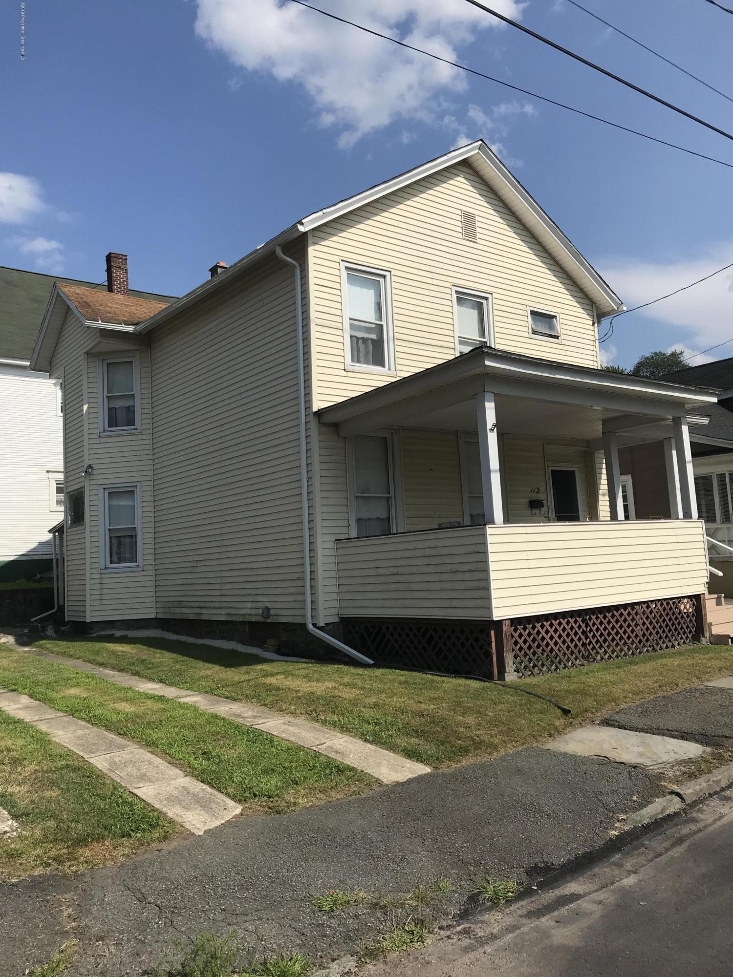 112 Terrace Street, Carbondale, Pennsylvania 18407, 3 Bedrooms Bedrooms, 7 Rooms Rooms,2 BathroomsBathrooms,Single Family,For Sale,Terrace,19-3958