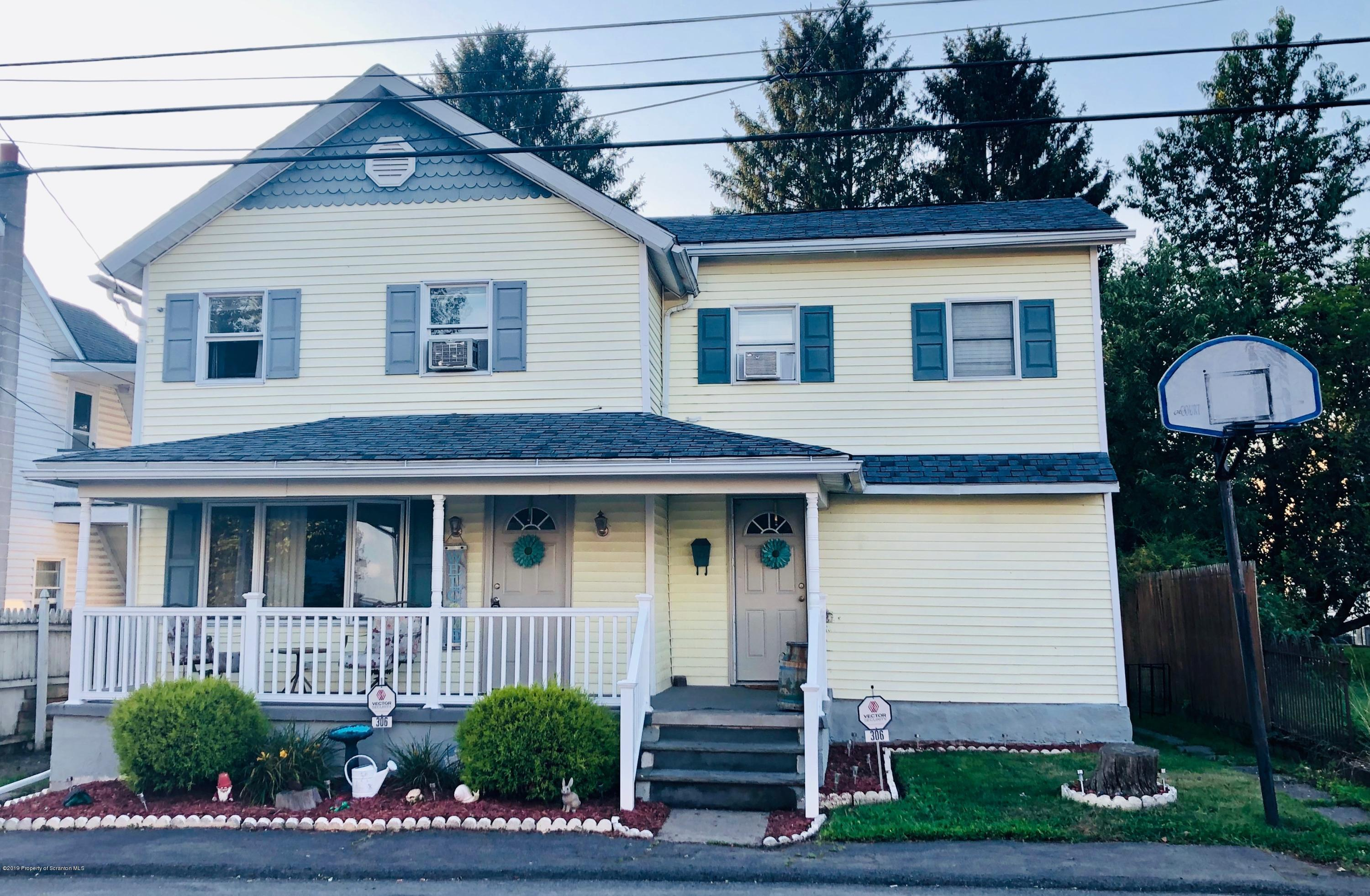306 Powell Ave, Jessup, Pennsylvania 18434, 4 Bedrooms Bedrooms, 7 Rooms Rooms,2 BathroomsBathrooms,Single Family,For Sale,Powell,19-3674