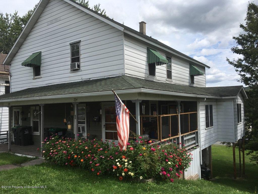 724-725 Main St, Forest City, Pennsylvania 18421, ,Multi-Family,For Sale,Main,19-3901
