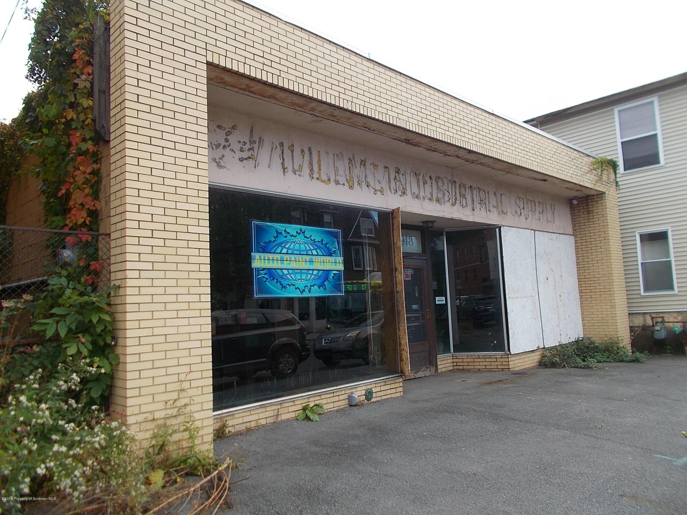 918 Washington Ave, Scranton, Pennsylvania 18509, ,2 BathroomsBathrooms,Commercial,For Sale,Washington,19-4877