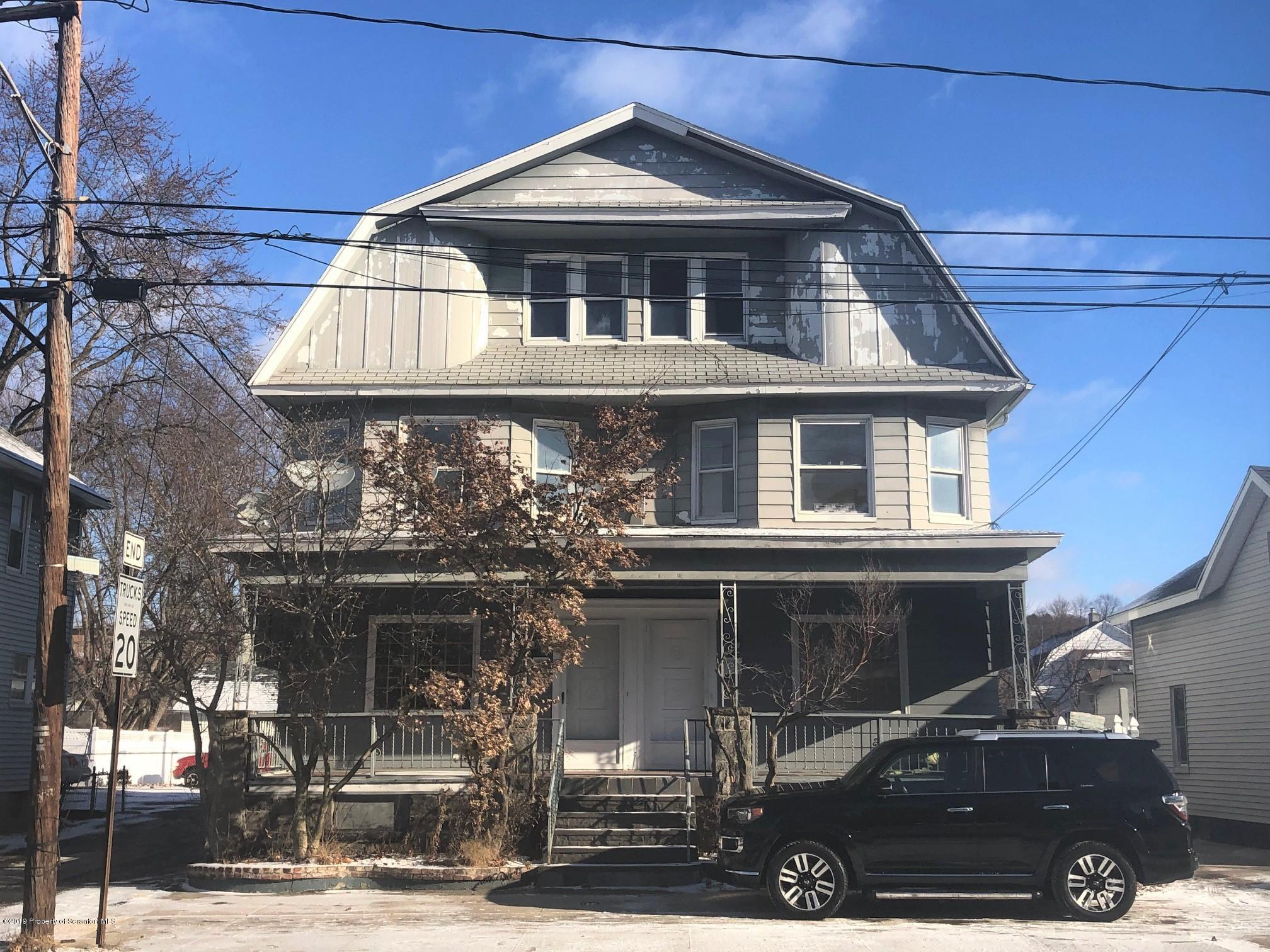 613 Moosic St, Scranton, Pennsylvania 18505, ,Multi-Family,For Sale,Moosic,19-5748