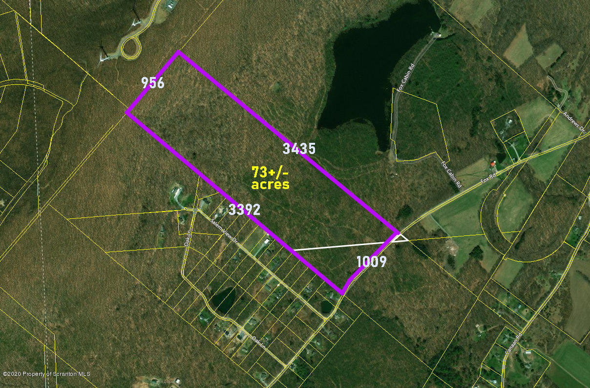 Fox Rd, Waymart, Pennsylvania 18472, ,Land,For Sale,Fox,19-5300