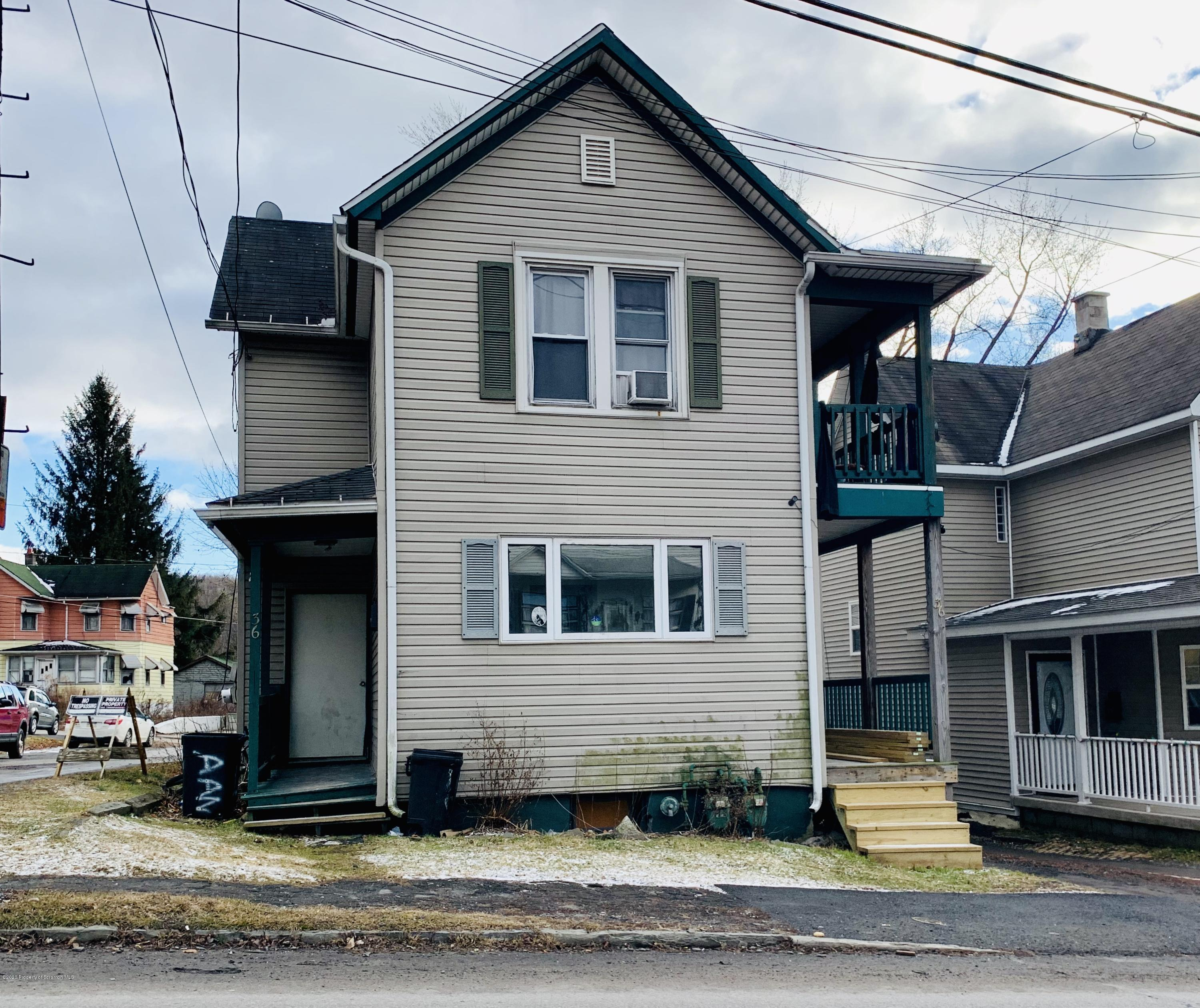 36 Canaan St, Carbondale, Pennsylvania 18407, ,Multi-Family,For Sale,Canaan,20-451