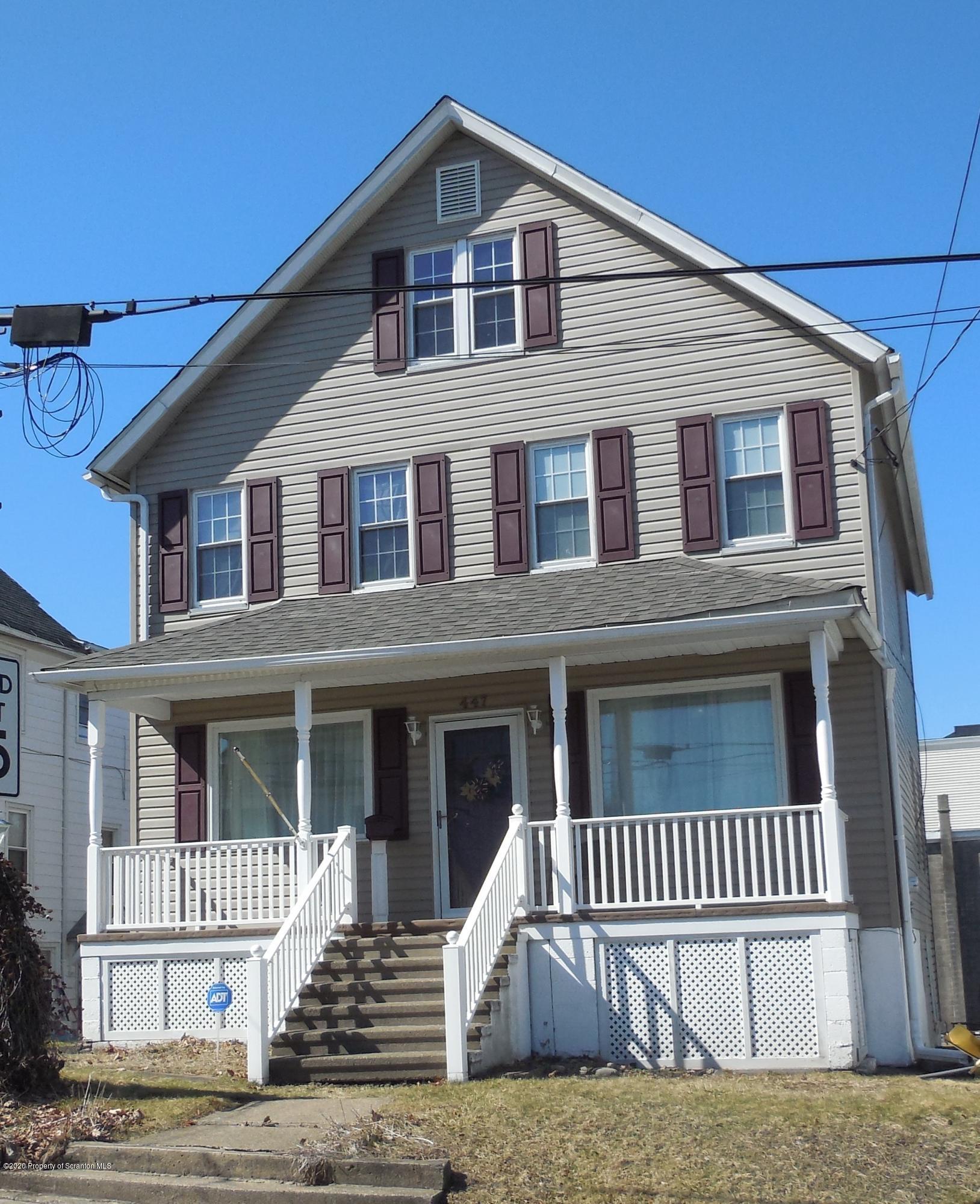 447 Morgan St, Dickson City, Pennsylvania 18519, 3 Bedrooms Bedrooms, 7 Rooms Rooms,2 BathroomsBathrooms,Single Family,For Sale,Morgan,20-1005