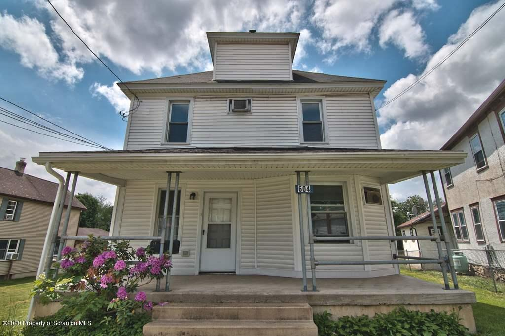 604 Valley Ave, Olyphant, Pennsylvania 18447, ,Multi-Family,For Sale,Valley,20-1933