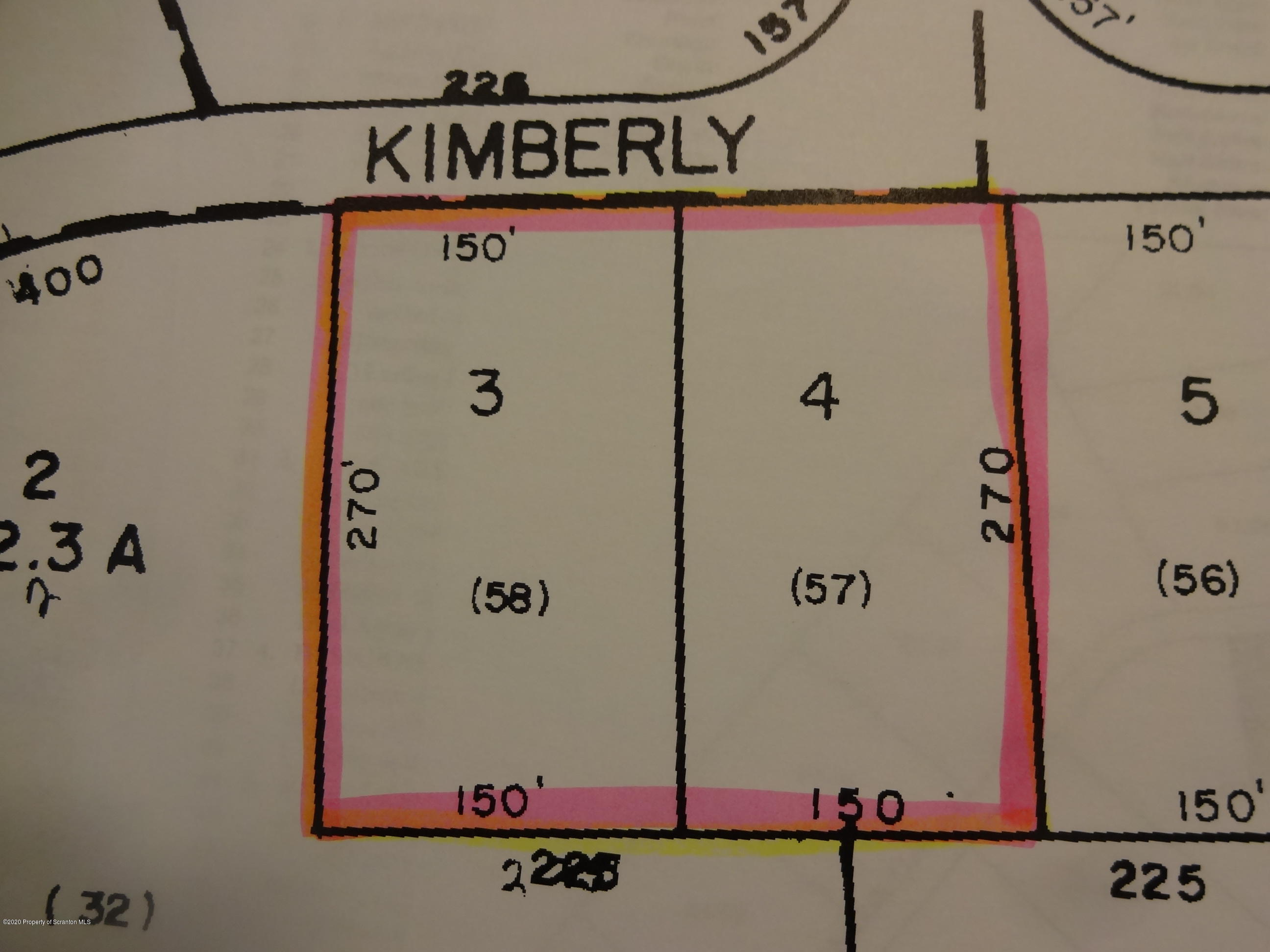 57-58 Kimberly Ln, Thornhurst, Pennsylvania 18424, ,Land,For Sale,Kimberly,20-2175