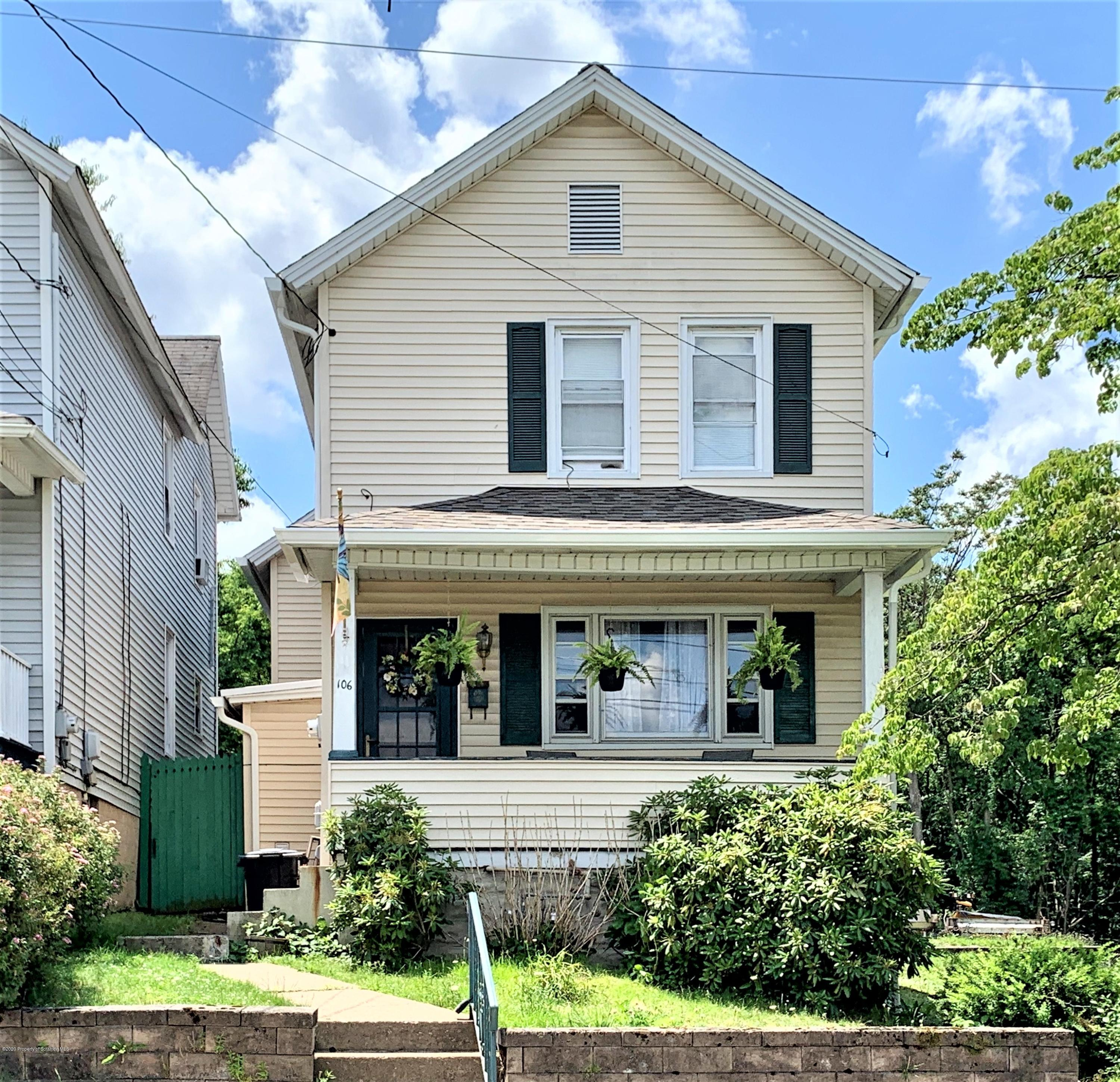 106 Grove St, Dunmore, Pennsylvania 18510, 3 Bedrooms Bedrooms, 7 Rooms Rooms,2 BathroomsBathrooms,Single Family,For Sale,Grove,20-2211