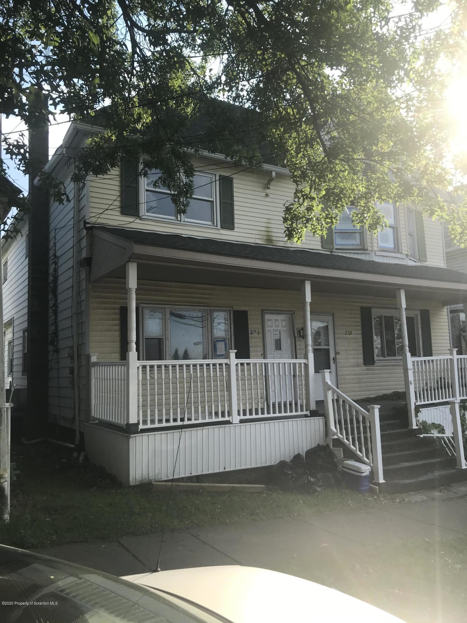 261 Dana St, Wilkes-Barre, Pennsylvania 18702, 3 Bedrooms Bedrooms, 7 Rooms Rooms,2 BathroomsBathrooms,Rental,For Lease,Dana,20-2235