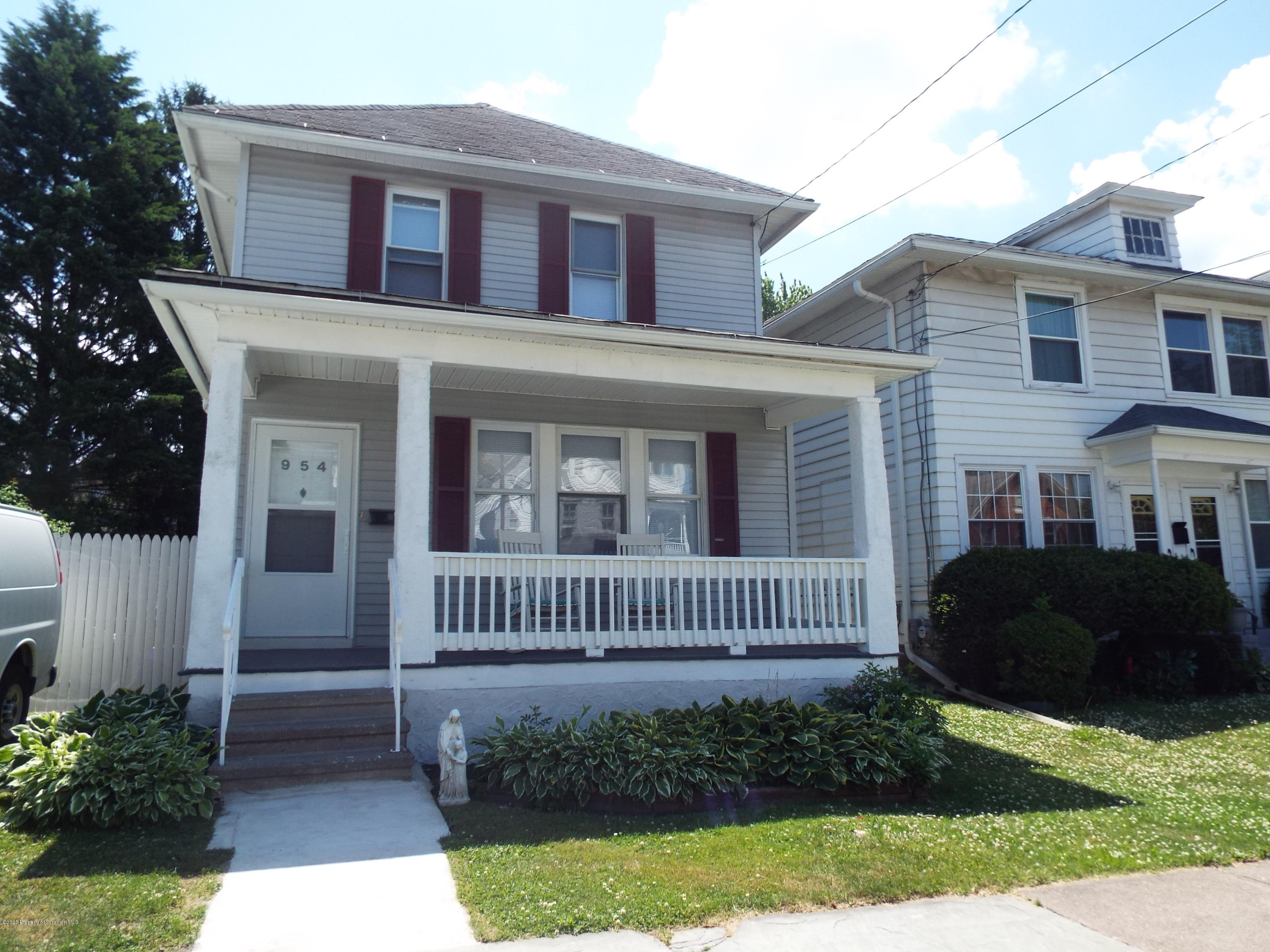 954 Irving Ave, Scranton, Pennsylvania 18510, 3 Bedrooms Bedrooms, 6 Rooms Rooms,1 BathroomBathrooms,Single Family,For Sale,Irving,20-2241