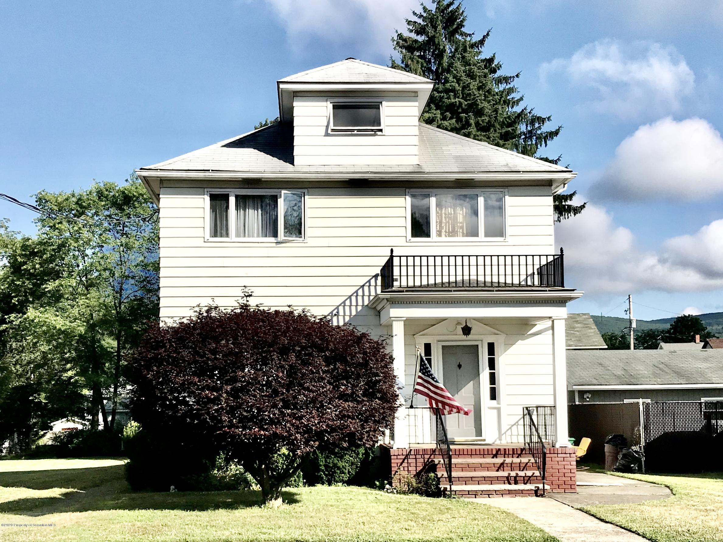 602 4th St, Jessup, Pennsylvania 18434, 4 Bedrooms Bedrooms, 7 Rooms Rooms,1 BathroomBathrooms,Single Family,For Sale,4th,20-2854