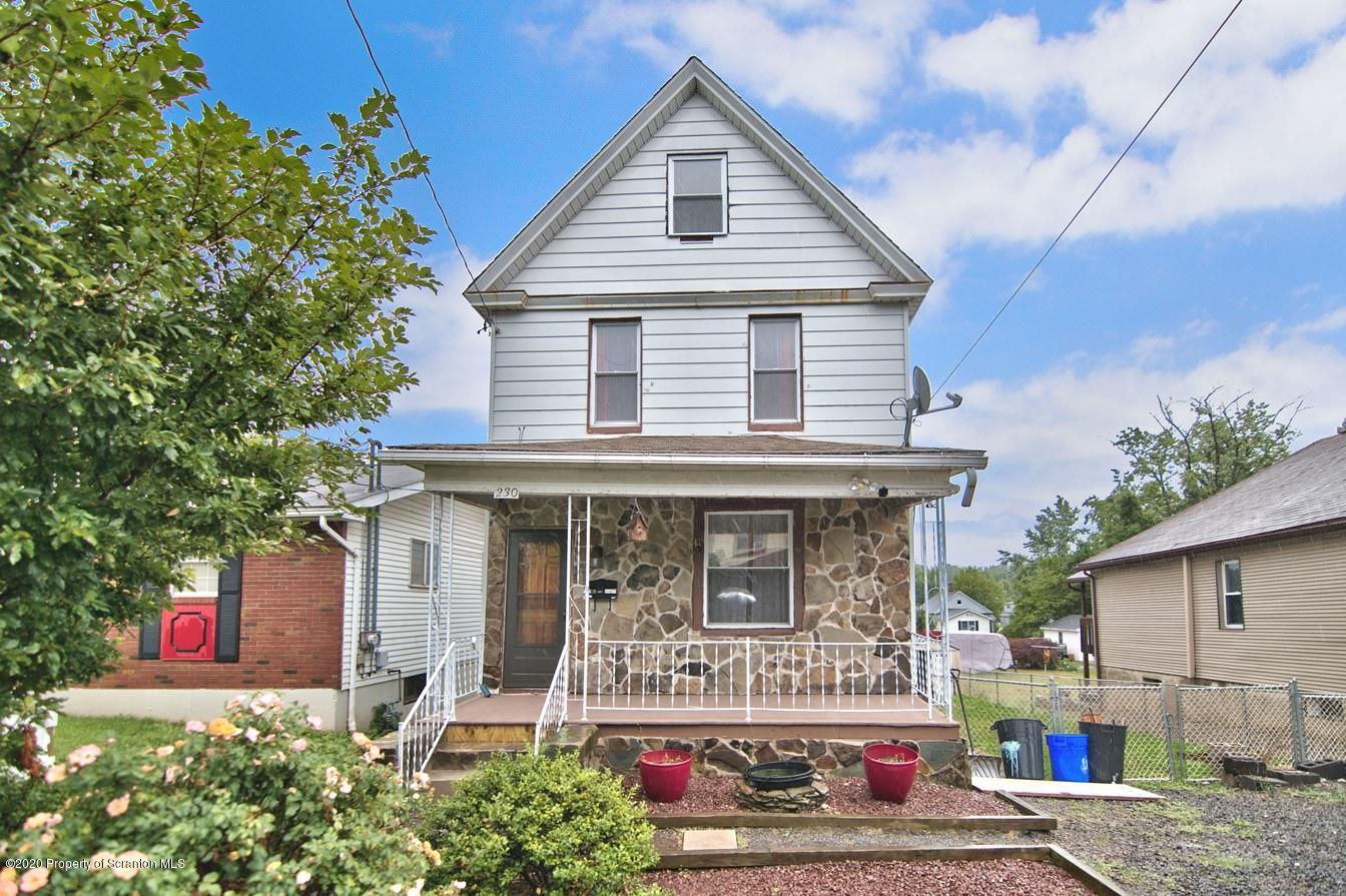 230 Cameron Ave, Scranton, Pennsylvania 18504, 4 Bedrooms Bedrooms, 7 Rooms Rooms,3 BathroomsBathrooms,Single Family,For Sale,Cameron,20-3017