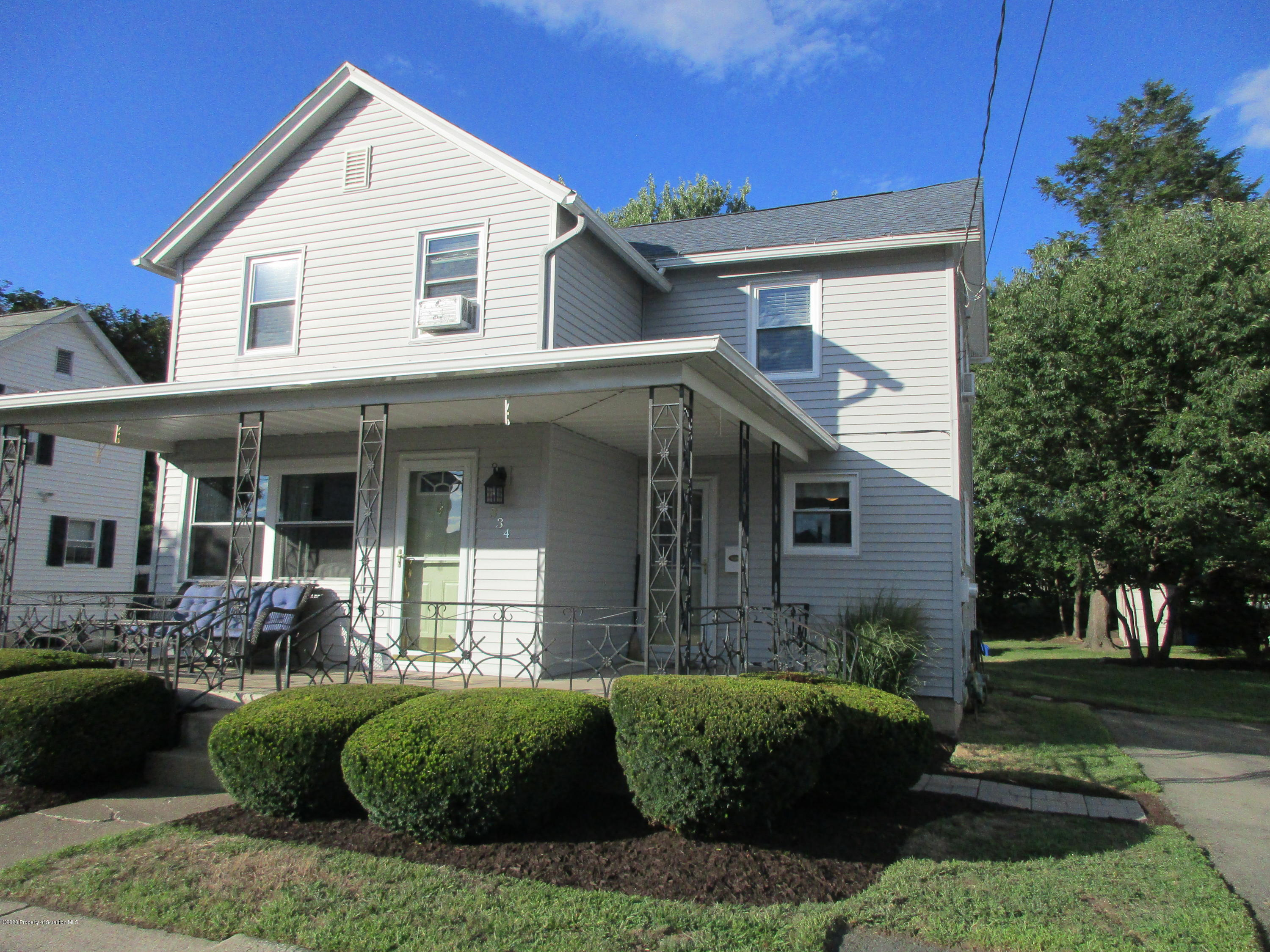 334 Dolph St, Olyphant, Pennsylvania 18447, 2 Bedrooms Bedrooms, 5 Rooms Rooms,2 BathroomsBathrooms,Single Family,For Sale,Dolph,20-3306