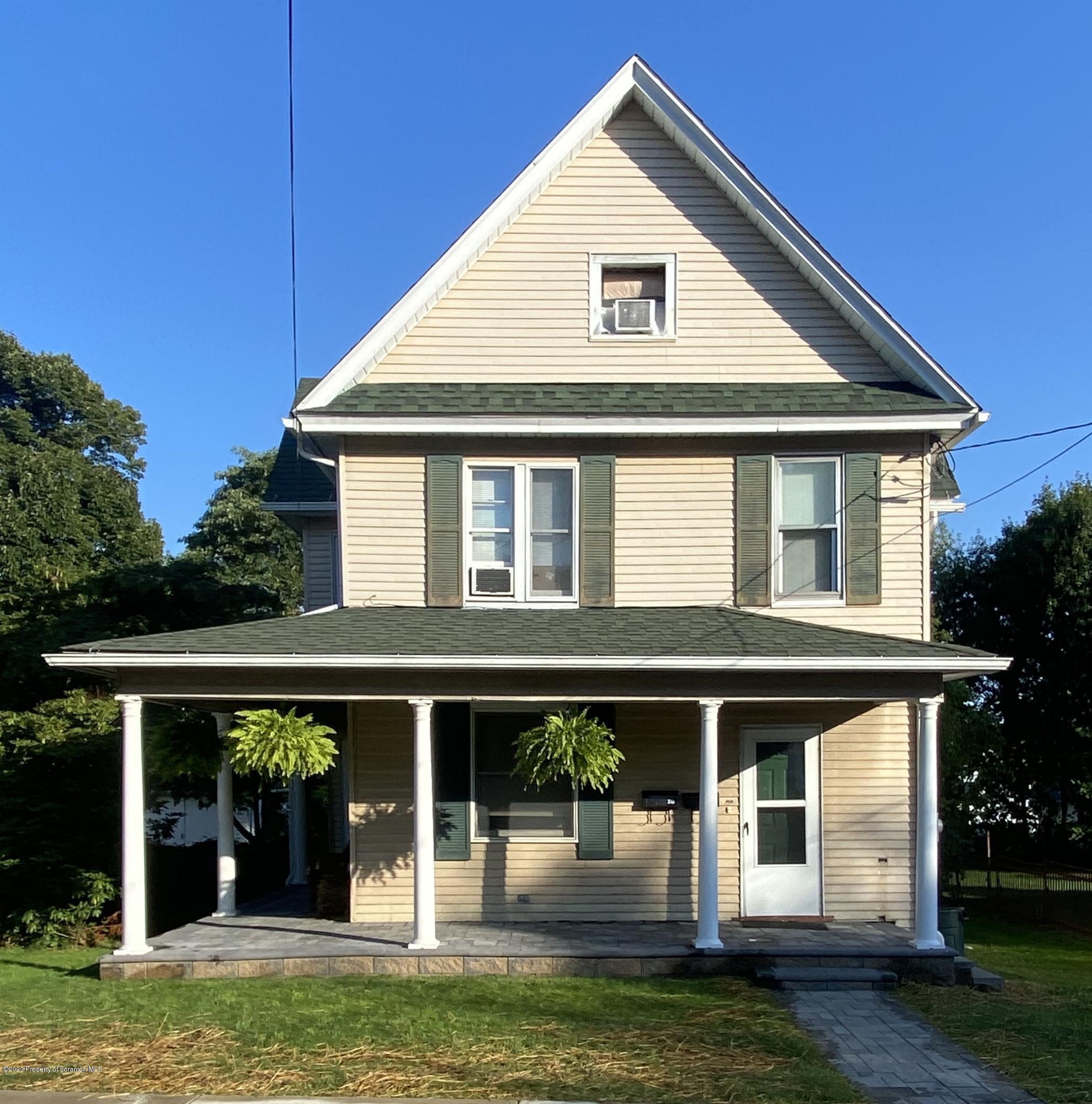 310 3rd St, Blakely, Pennsylvania 18447, ,Multi-Family,For Sale,3rd,20-3778