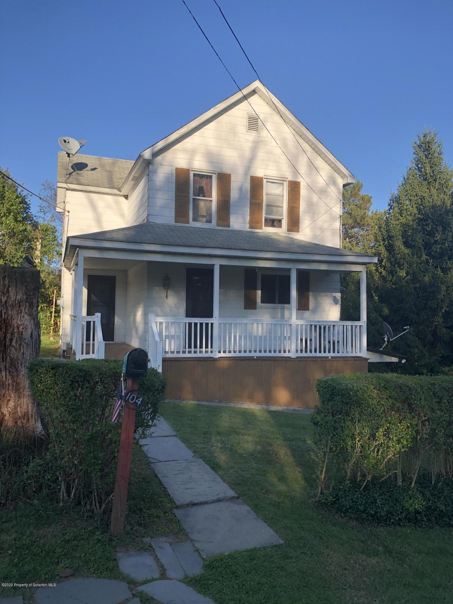 104 Front st, Forest City, Pennsylvania 18421, 4 Bedrooms Bedrooms, 7 Rooms Rooms,2 BathroomsBathrooms,Single Family,For Sale,Front,20-3806