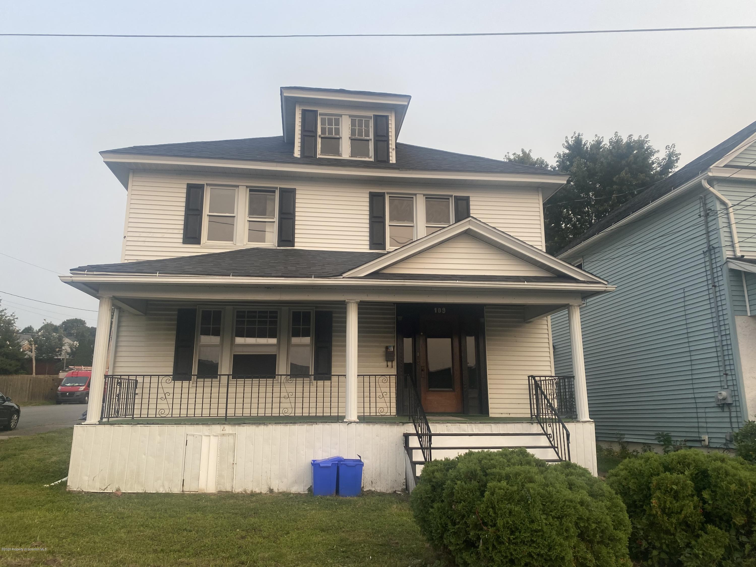 109 Sanderson St, Olyphant, Pennsylvania 18447, 4 Bedrooms Bedrooms, 8 Rooms Rooms,2 BathroomsBathrooms,Single Family,For Sale,Sanderson,20-3854