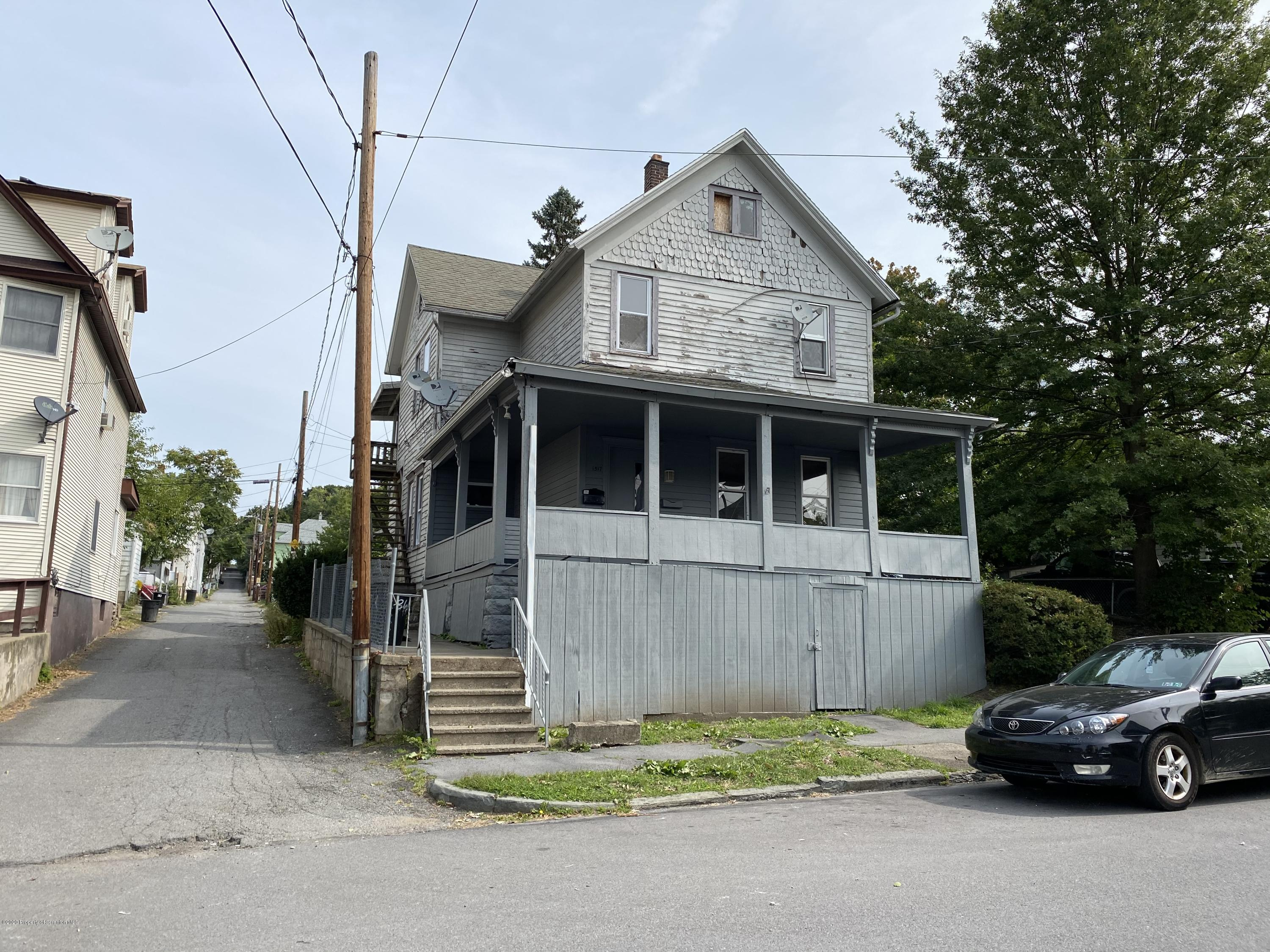 1517 Olive St, Scranton, Pennsylvania 18510, ,Multi-Family,For Sale,Olive,20-3865