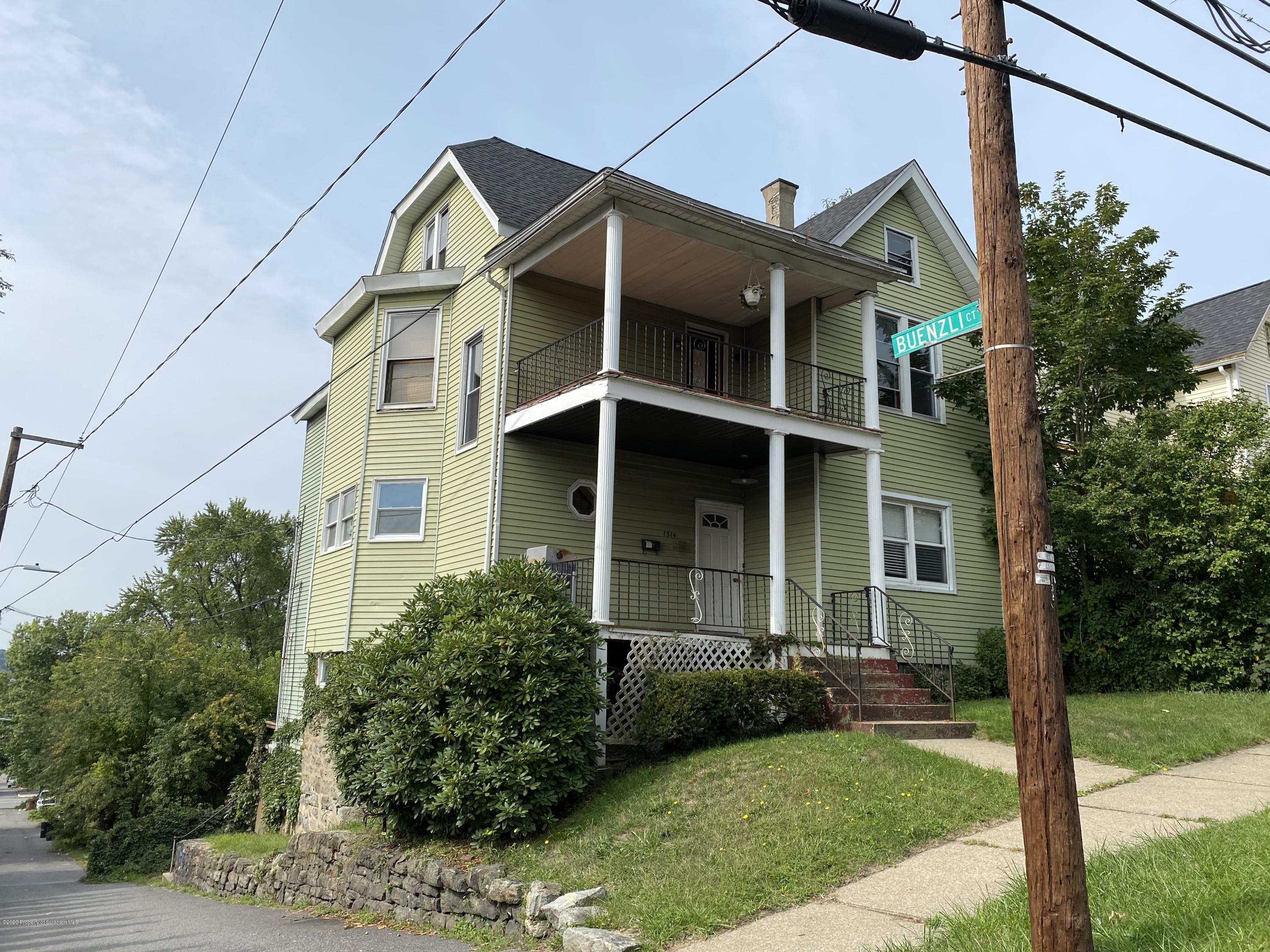 1314 Vine St, Scranton, Pennsylvania 18510, ,Multi-Family,For Sale,Vine,20-3867