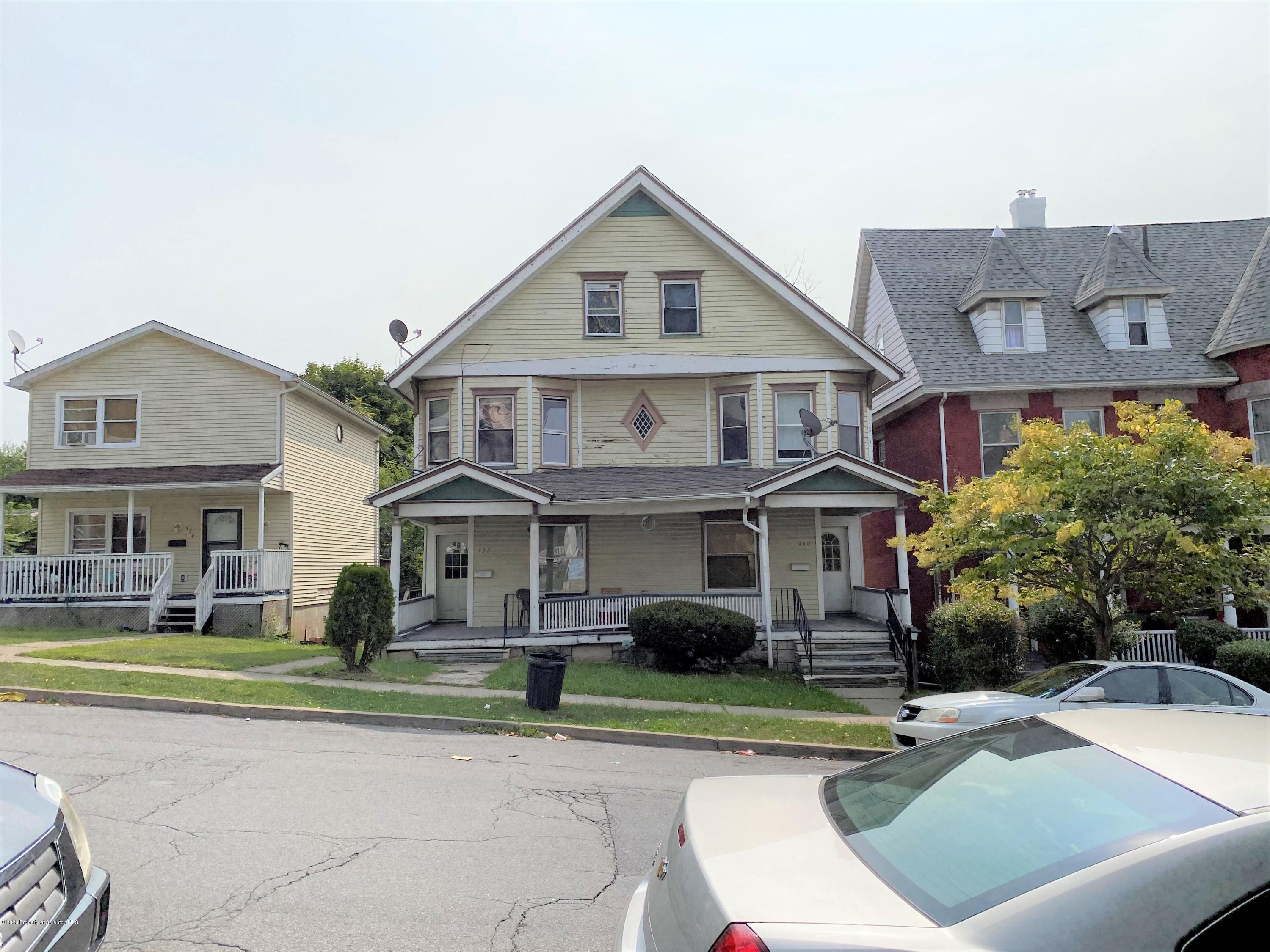 430-32 Irving Ave, Scranton, Pennsylvania 18510, ,Multi-Family,For Sale,Irving,20-3868