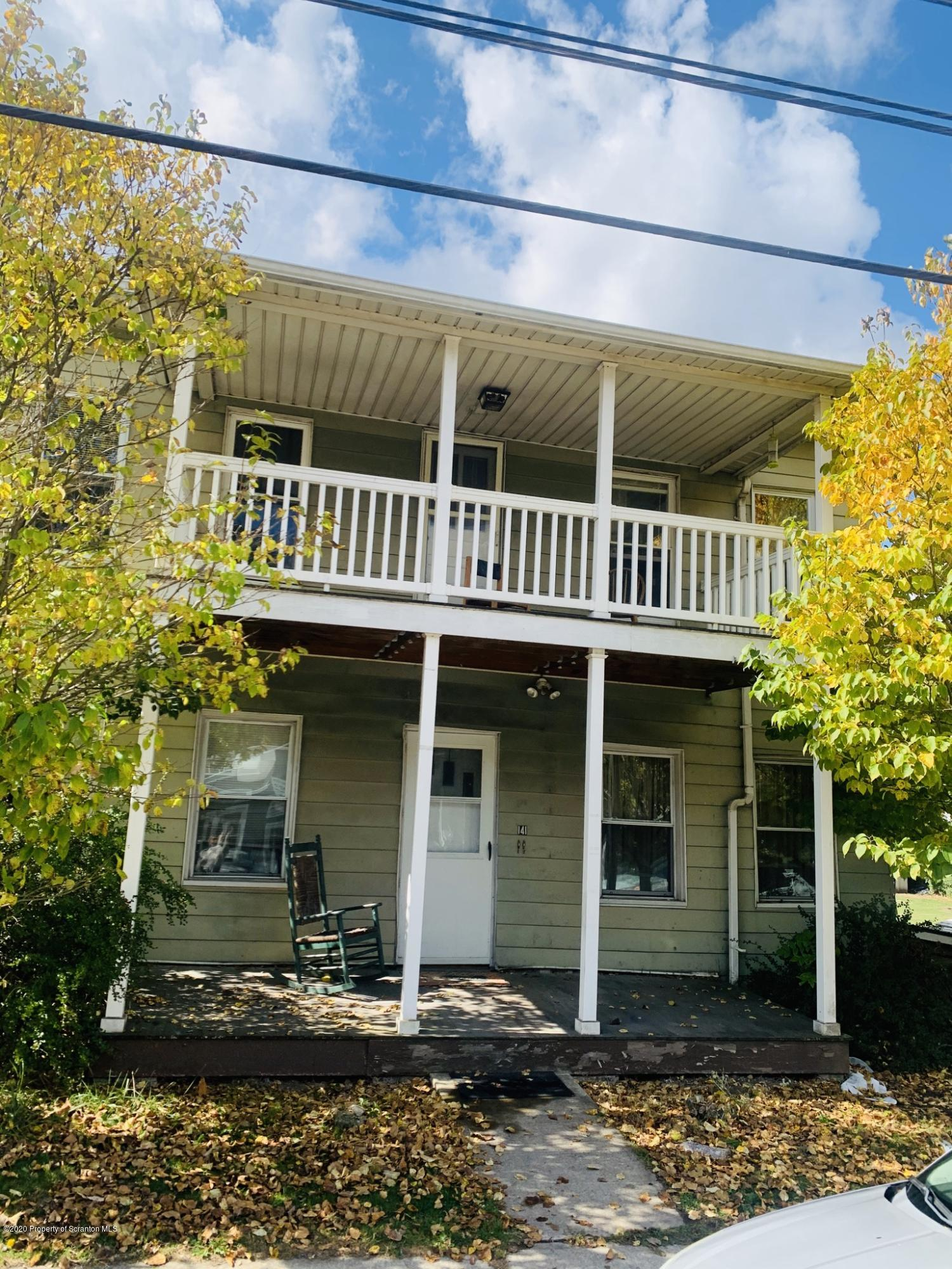 141 College Ave, Factoryville, Pennsylvania 18419, ,Multi-Family,For Sale,College,20-4333