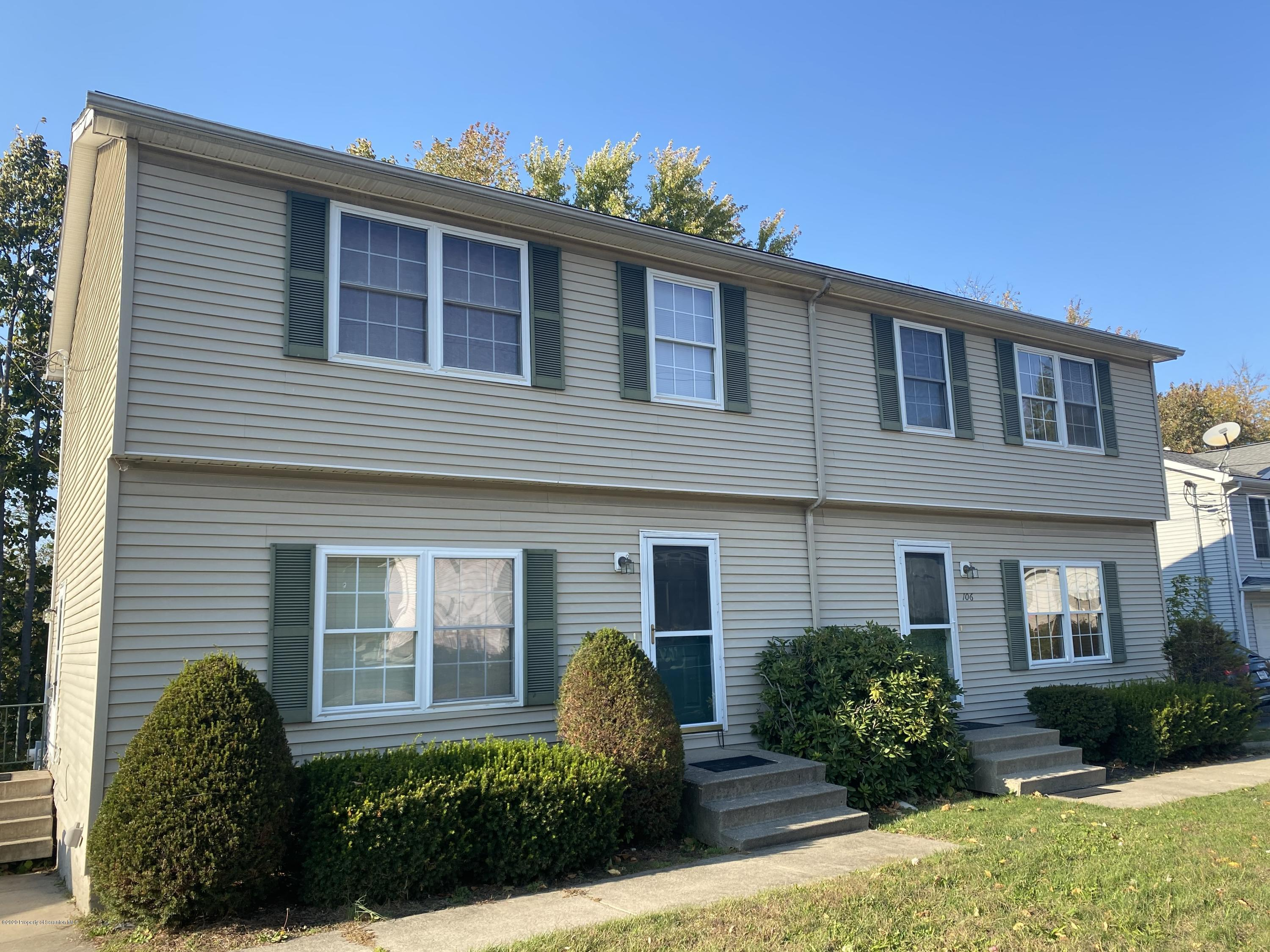106-108 Front St, Jessup, Pennsylvania 18434, ,Multi-Family,For Sale,Front,20-4440