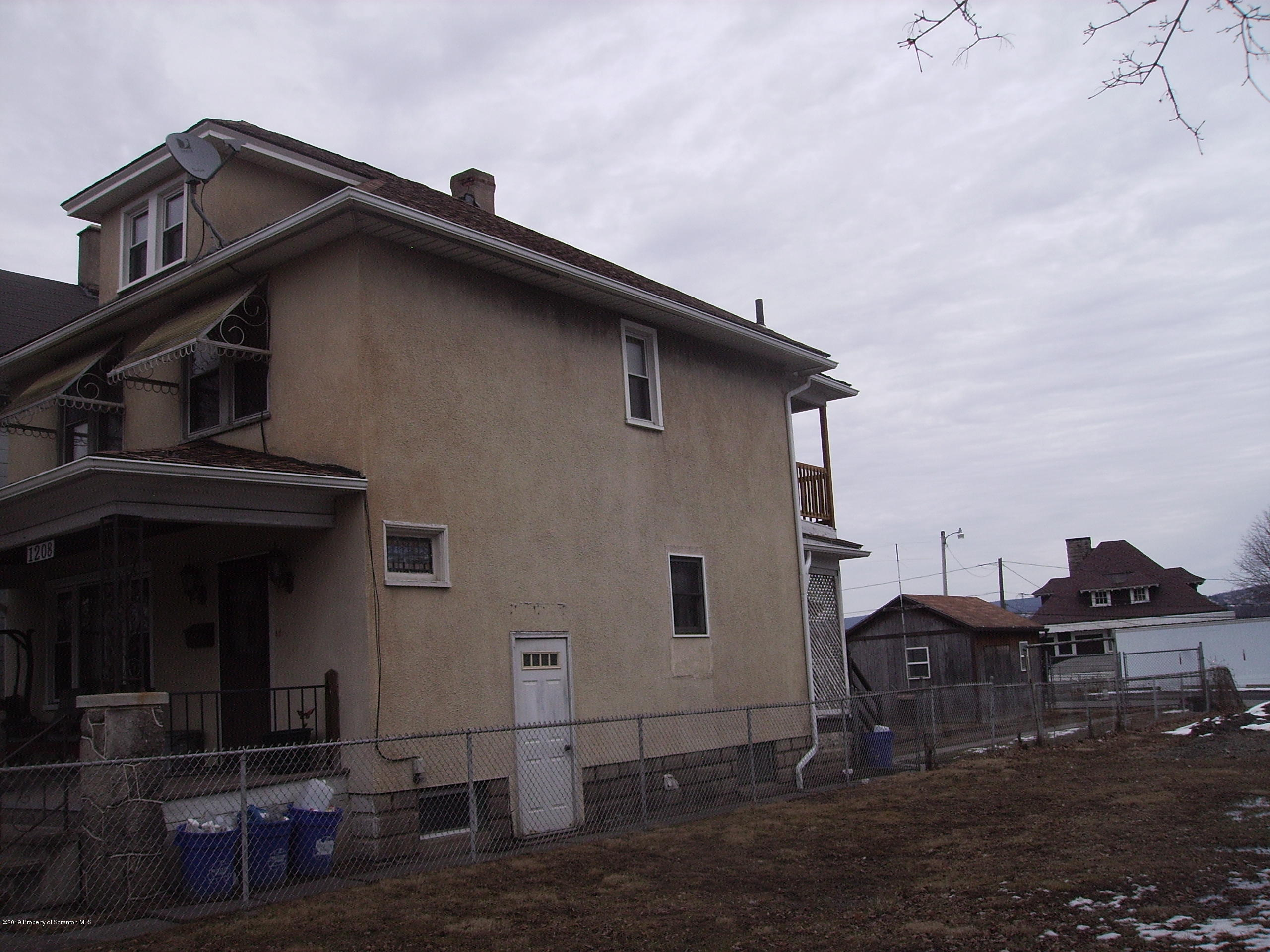 1208 Main Ave, Scranton, Pennsylvania 18508, 3 Bedrooms Bedrooms, 6 Rooms Rooms,1 BathroomBathrooms,Single Family,For Sale,Main,20-4532