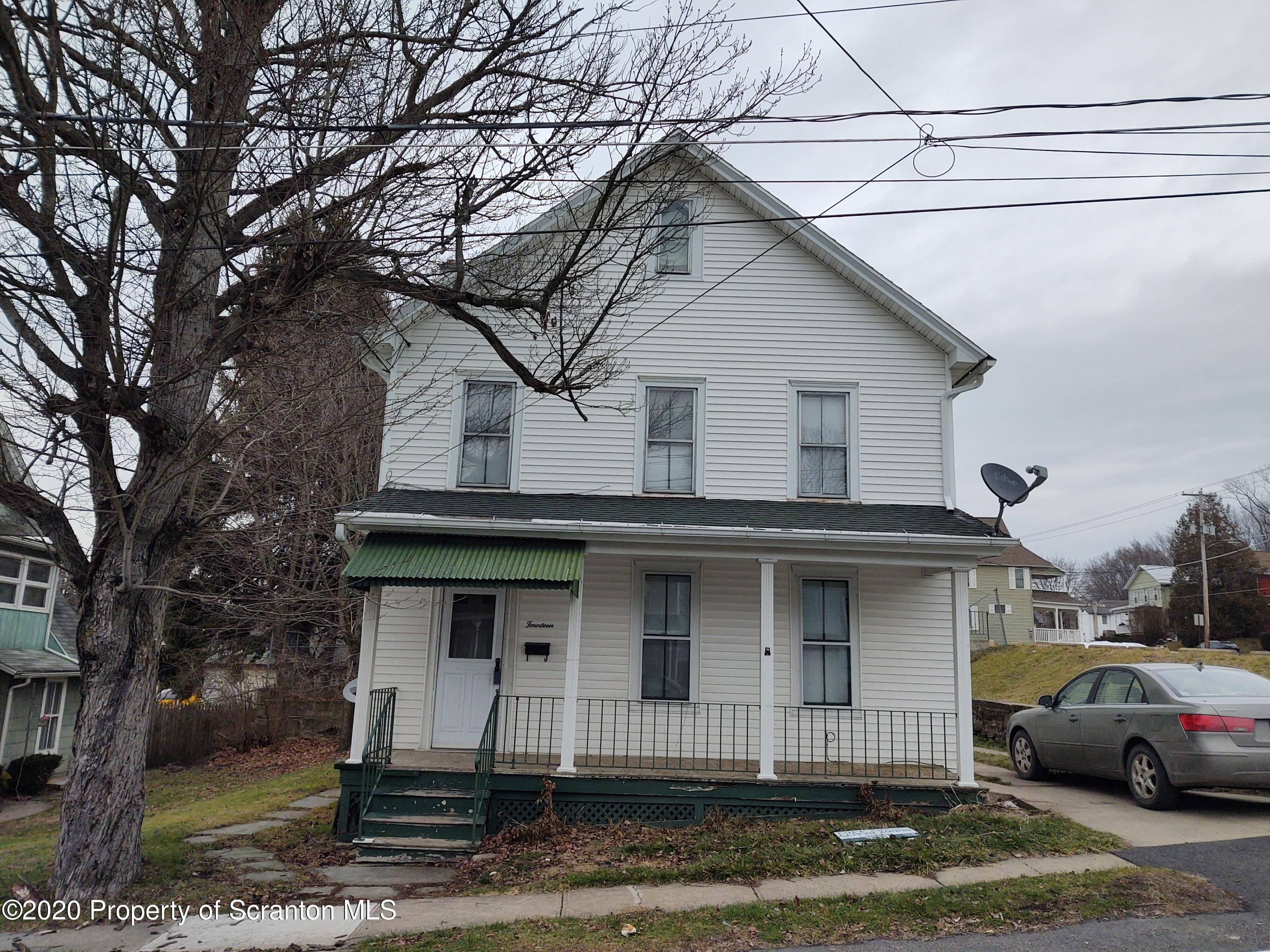 14 Maple Ave, Carbondale, Pennsylvania 18407, 3 Bedrooms Bedrooms, 7 Rooms Rooms,2 BathroomsBathrooms,Single Family,For Sale,Maple,20-5363