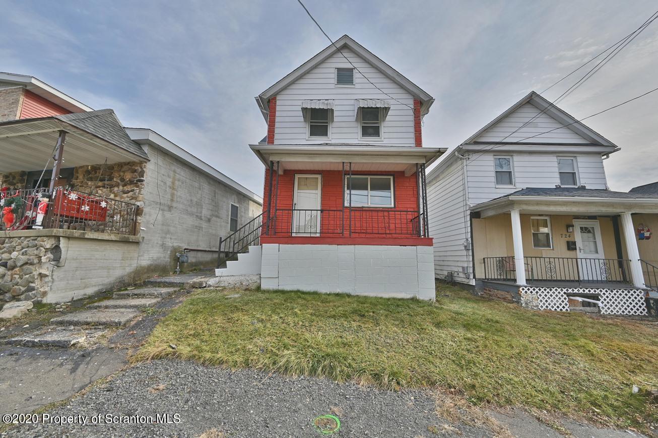 726 Dunmore St, Throop, Pennsylvania 18512, 2 Bedrooms Bedrooms, 5 Rooms Rooms,1 BathroomBathrooms,Single Family,For Sale,Dunmore,20-5373