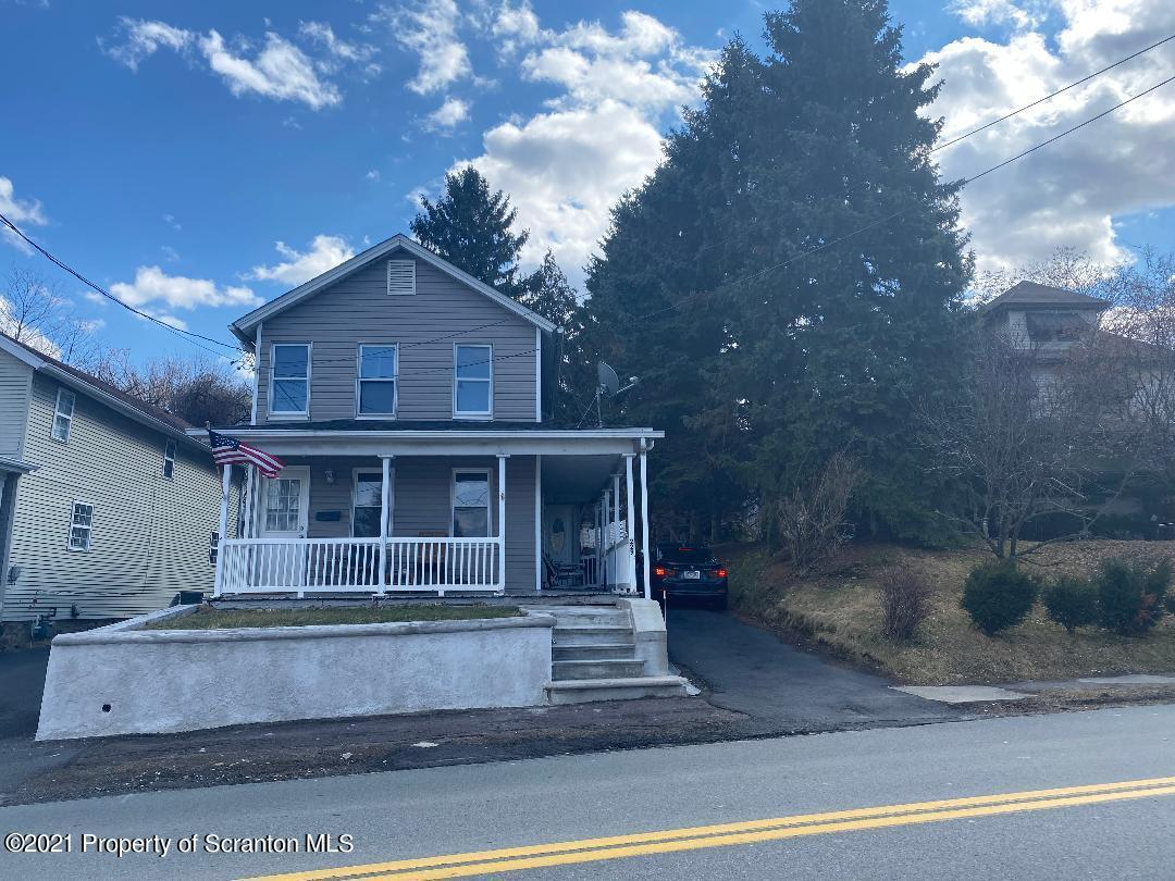 229 Valley Ave, Olyphant, Pennsylvania 18447, 2 Bedrooms Bedrooms, 6 Rooms Rooms,1 BathroomBathrooms,Single Family,For Sale,Valley,21-86