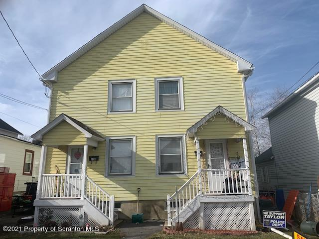 128 Lincoln St, Taylor, Pennsylvania 18517, ,Multi-Family,For Sale,Lincoln,21-234