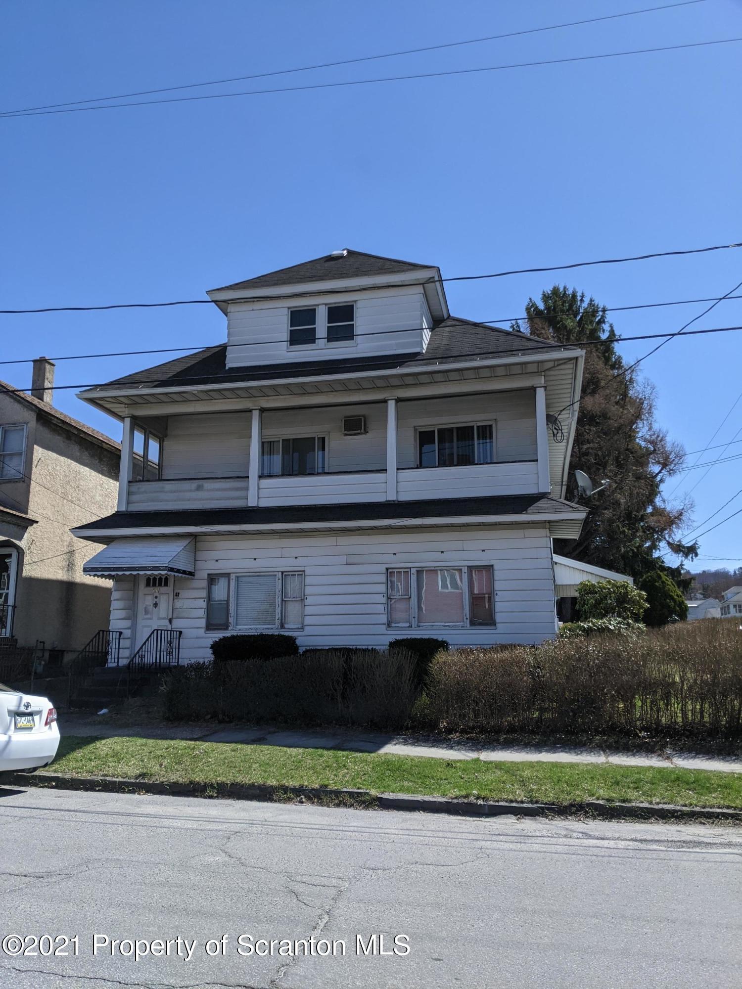 731 Irving Ave, Scranton, Pennsylvania 18505, 2 Bedrooms Bedrooms, 4 Rooms Rooms,1 BathroomBathrooms,Rental,For Lease,Irving,21-1186