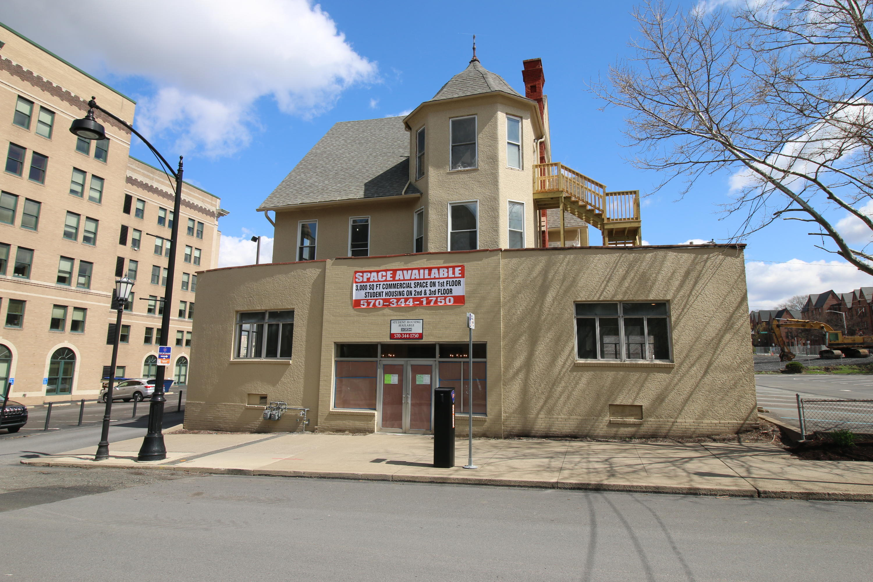715 Linden St, Scranton, Pennsylvania 18510, ,4 BathroomsBathrooms,Commercial,For Lease,Linden,21-1372