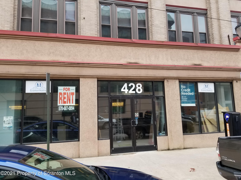 428 Spruce St, Scranton, Pennsylvania 18503, ,1 BathroomBathrooms,Commercial,For Lease,Spruce,21-1616