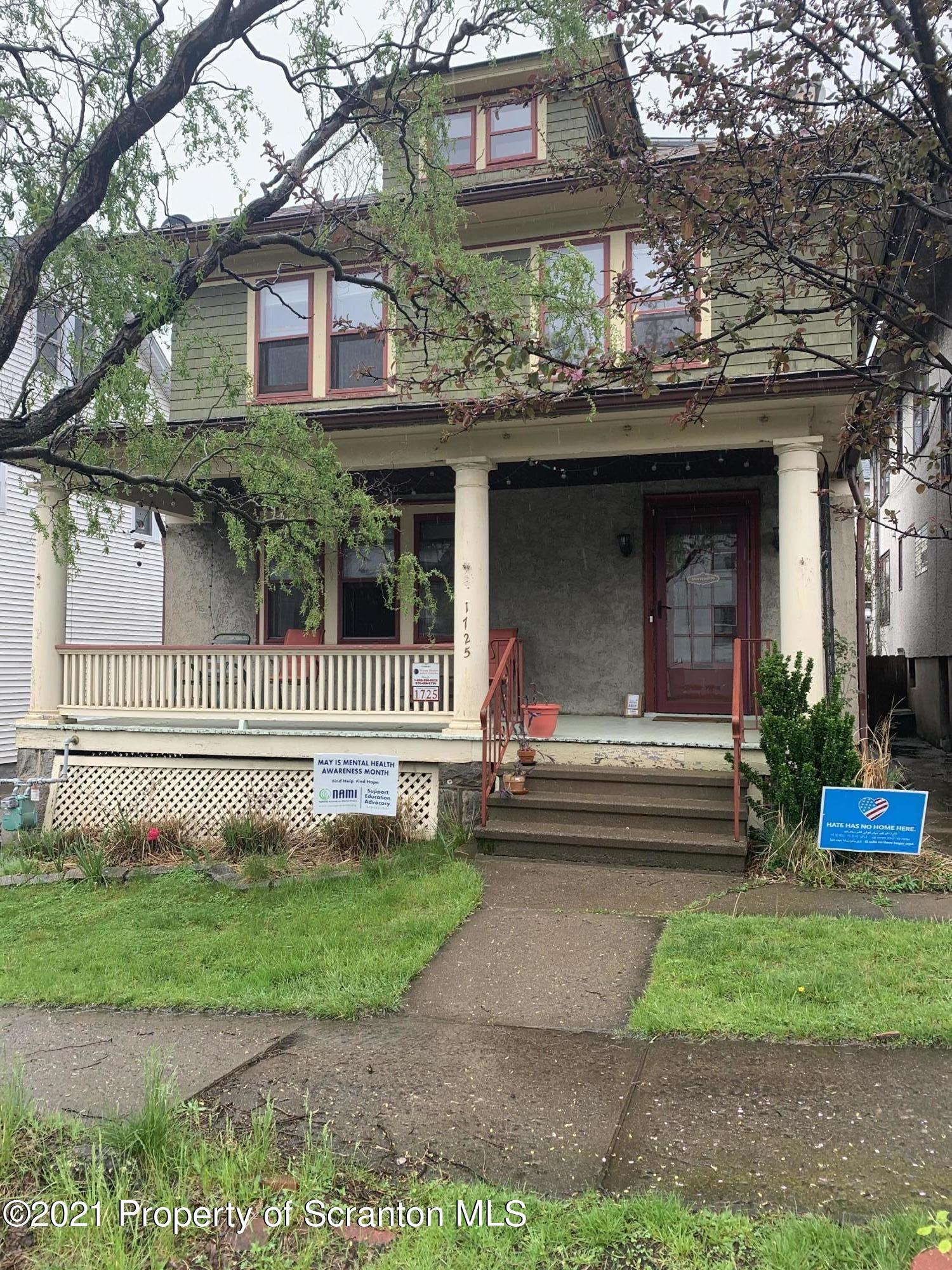 1725 Olive St, Scranton, Pennsylvania 18510, 3 Bedrooms Bedrooms, 6 Rooms Rooms,1 BathroomBathrooms,Single Family,For Sale,Olive,21-1675
