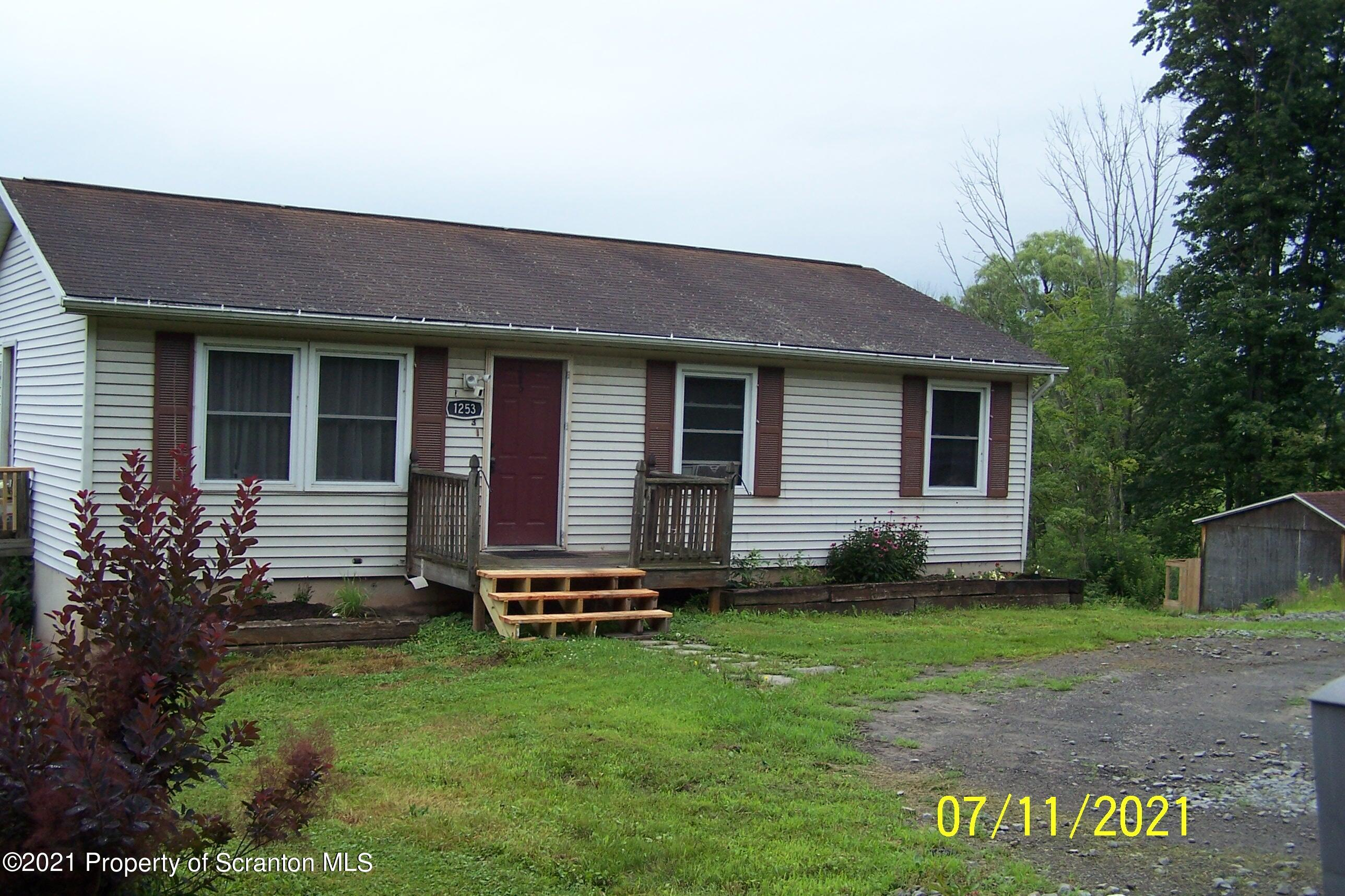 1253 State Route 29, Springville, Pennsylvania 18844, 3 Bedrooms Bedrooms, 5 Rooms Rooms,1 BathroomBathrooms,Single Family,For Sale,State Route 29,21-3023