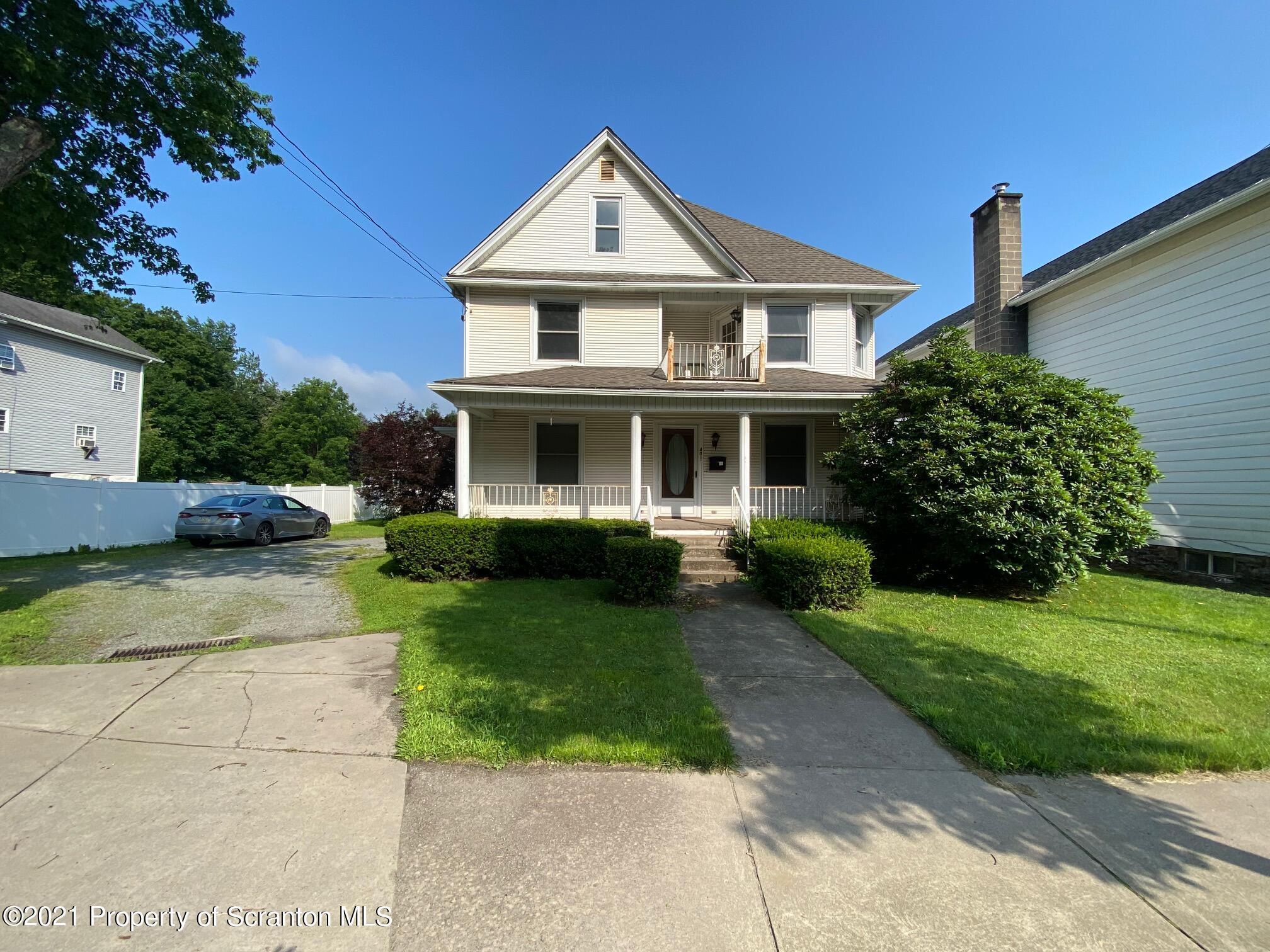 401 Washington Ave, Jermyn, Pennsylvania 18433, ,Multi-Family,For Sale,Washington,21-3196