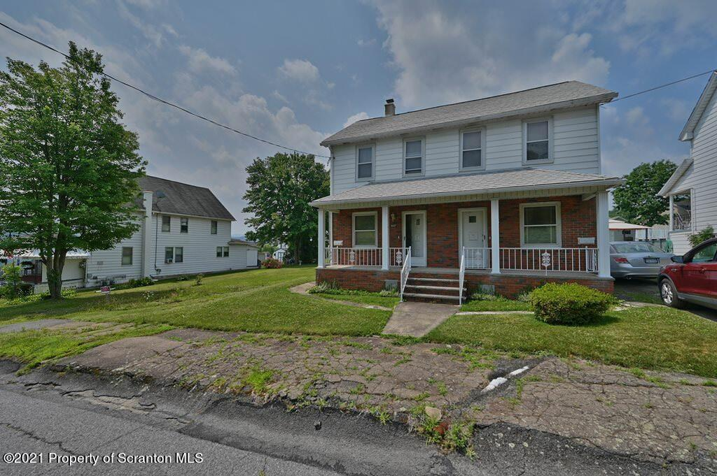 837-839 Jackson St, Dickson City, Pennsylvania 18519, ,Multi-Family,For Sale,Jackson,21-3255