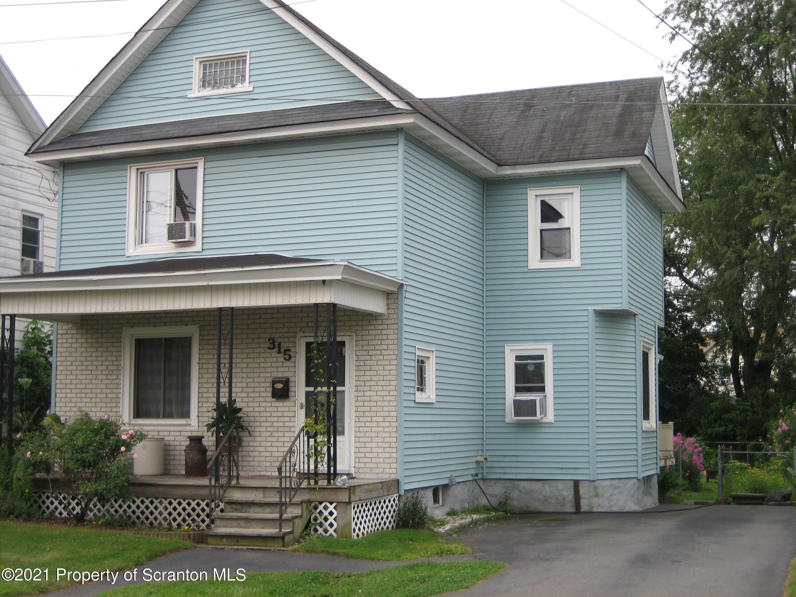315 Keystone Ave, Peckville, Pennsylvania 18452, 3 Bedrooms Bedrooms, 7 Rooms Rooms,2 BathroomsBathrooms,Single Family,For Sale,Keystone,21-3345