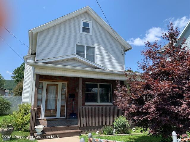 543 Washington Ave, Jermyn, Pennsylvania 18433, 4 Bedrooms Bedrooms, 8 Rooms Rooms,2 BathroomsBathrooms,Single Family,For Sale,Washington,21-3348