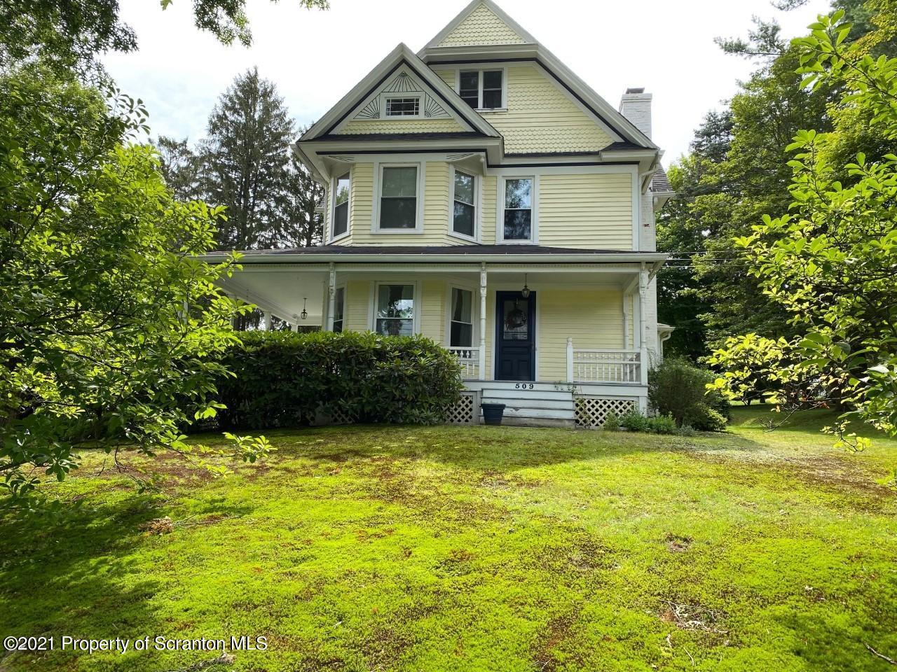 509 Grove St, Clarks Summit, Pennsylvania 18411, 5 Bedrooms Bedrooms, 9 Rooms Rooms,2 BathroomsBathrooms,Single Family,For Sale,Grove,21-3452