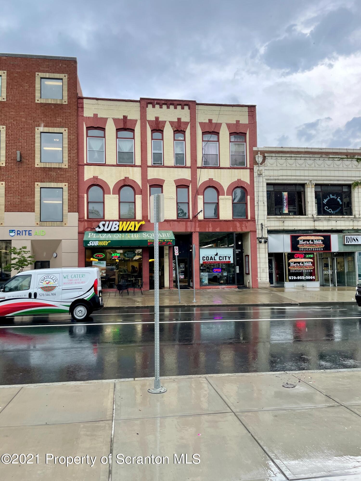 207 Washington Ave, Scranton, Pennsylvania 18503, ,1 BathroomBathrooms,Commercial,For Lease,Washington,21-4355