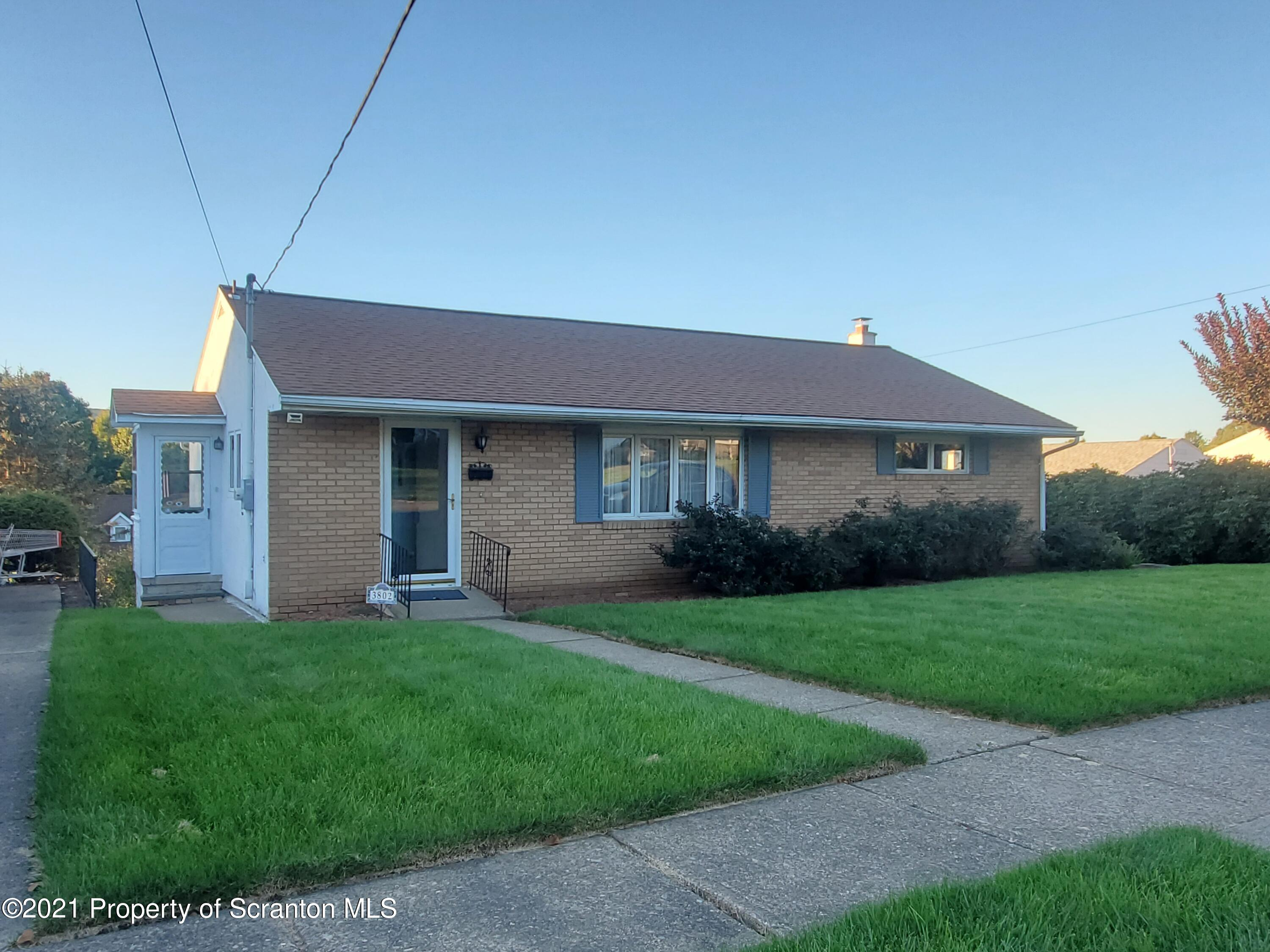3802 Wylam Ave, Moosic, Pennsylvania 18507, 3 Bedrooms Bedrooms, 7 Rooms Rooms,1 BathroomBathrooms,Single Family,For Sale,Wylam,21-4422