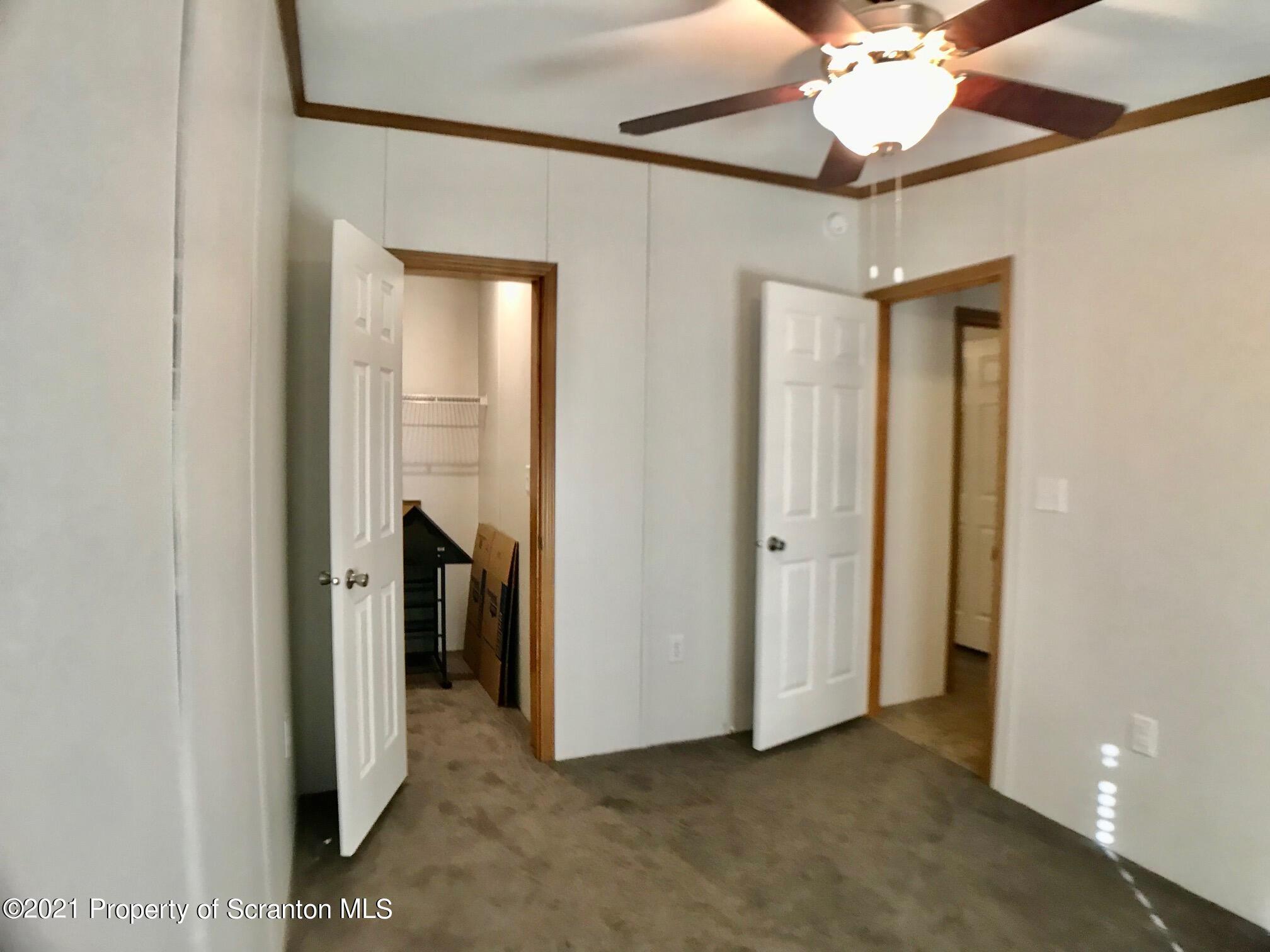 Bedroom entrances